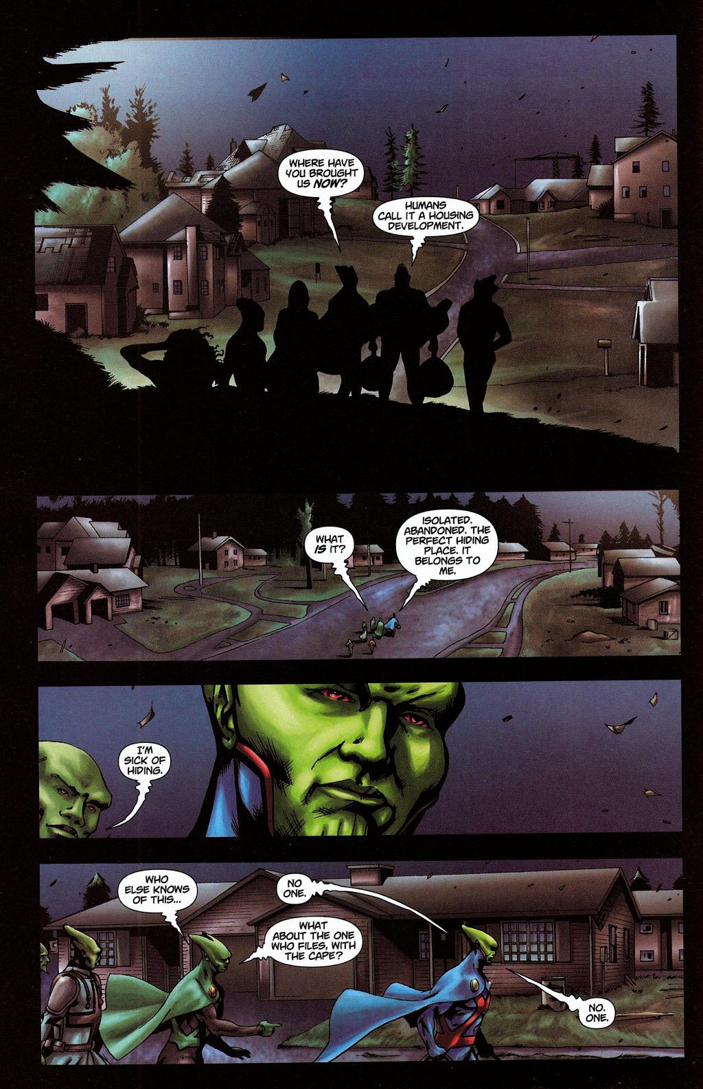 Read online Martian Manhunter (2006) comic -  Issue #5 - 6