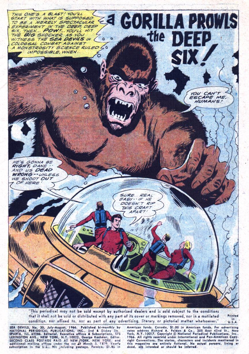 Read online Sea Devils comic -  Issue #30 - 4