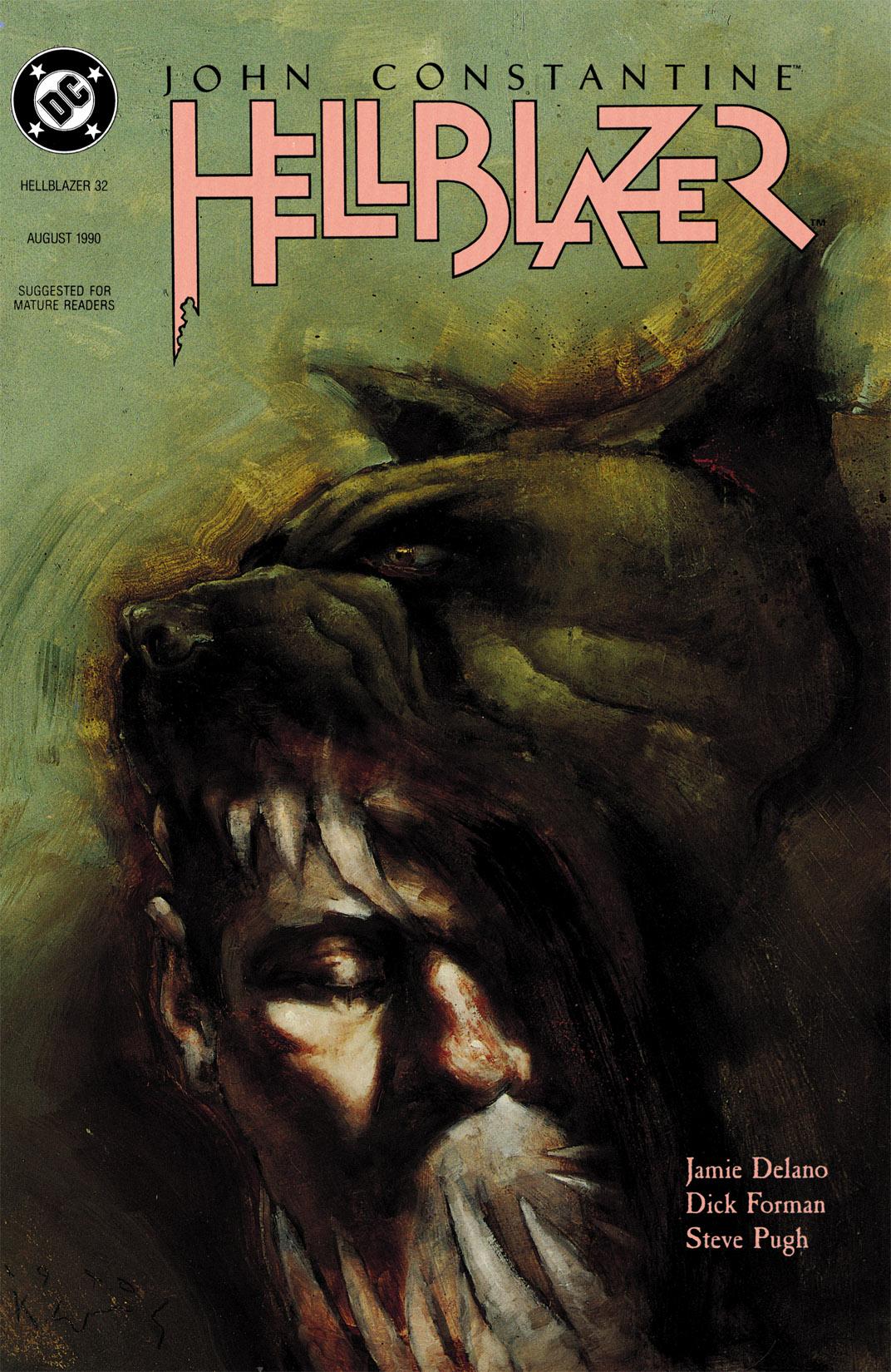 Hellblazer issue 32 - Page 1