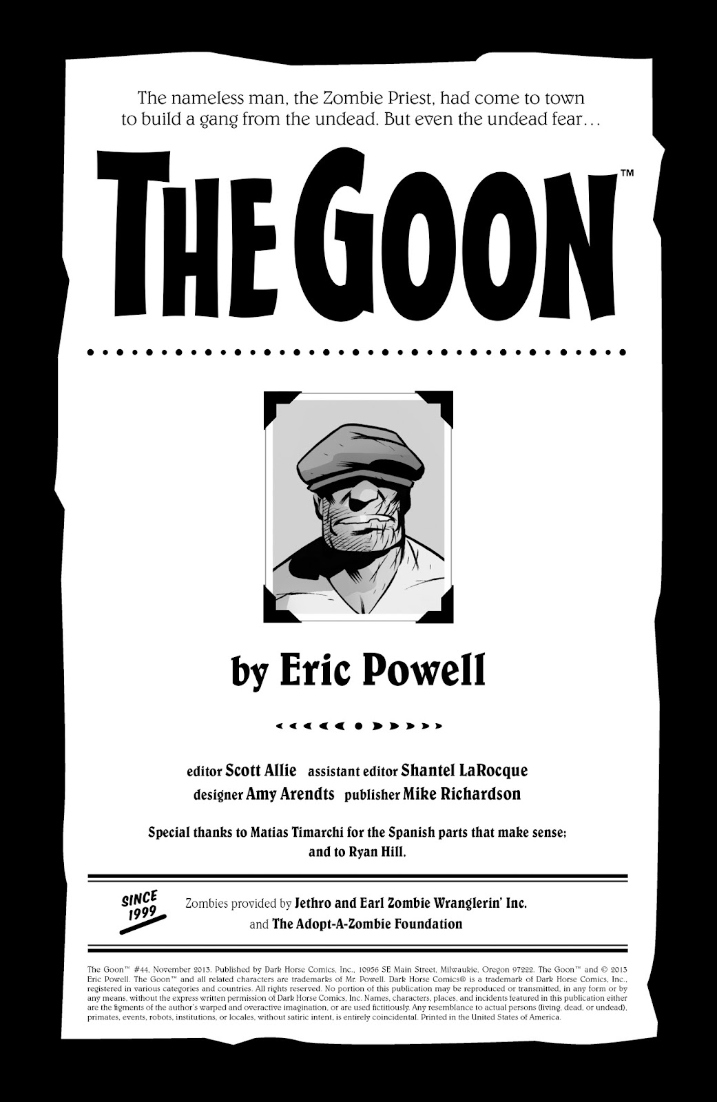 The Goon (2003) Issue #44 #44 - English 2