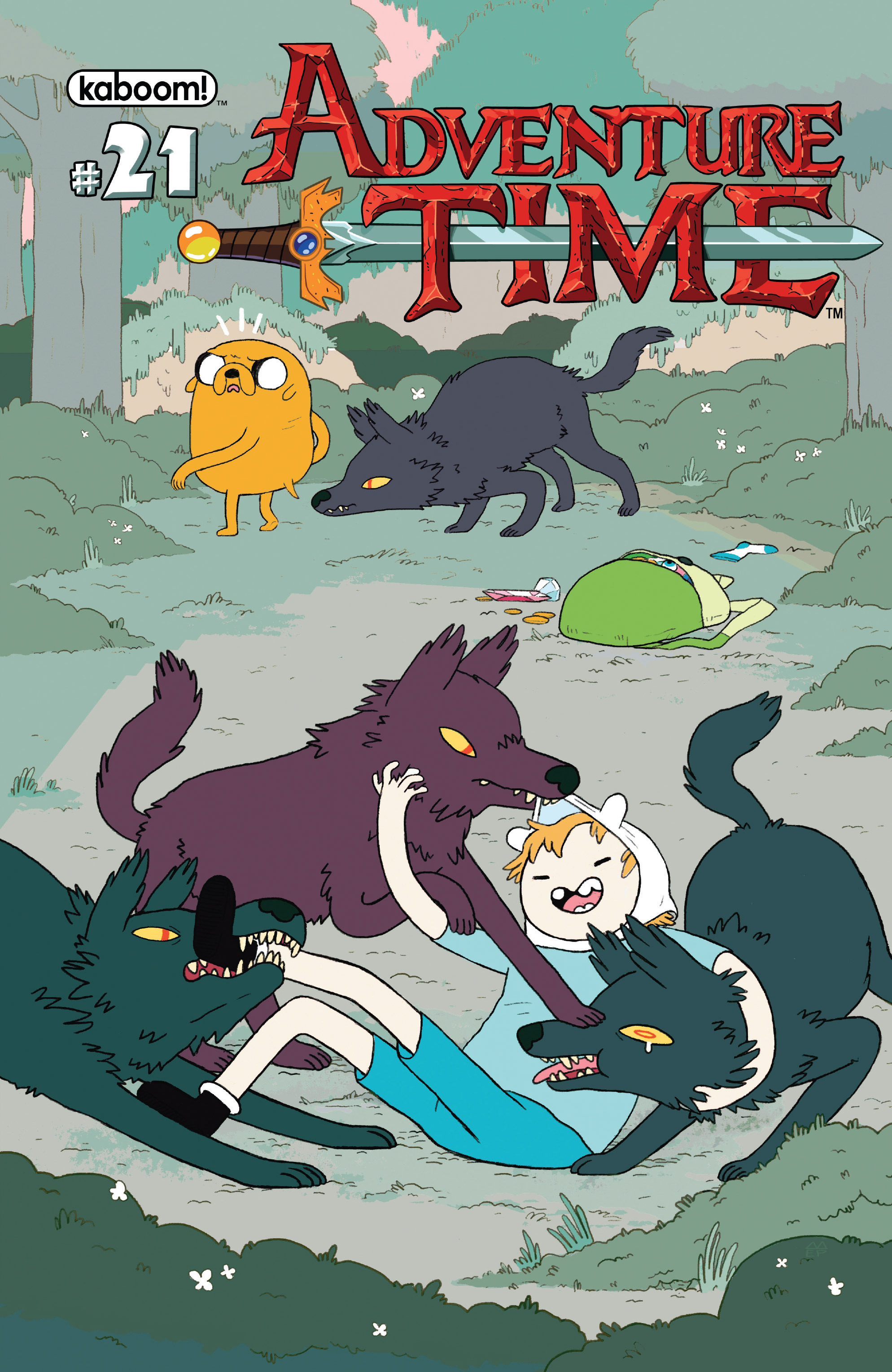 Adventure Time 21 Page 1