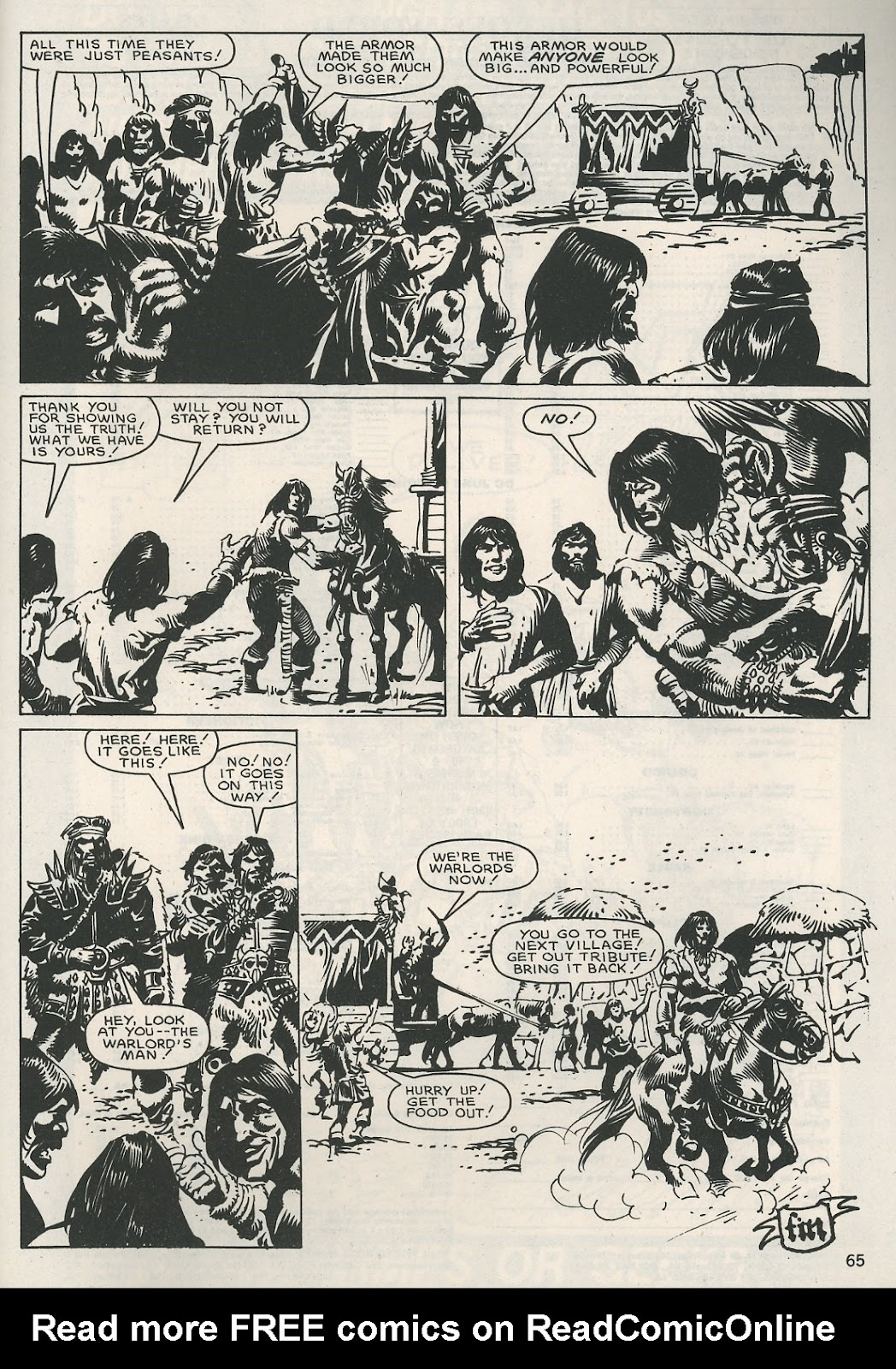 The Savage Sword Of Conan Issue #115 #116 - English 65