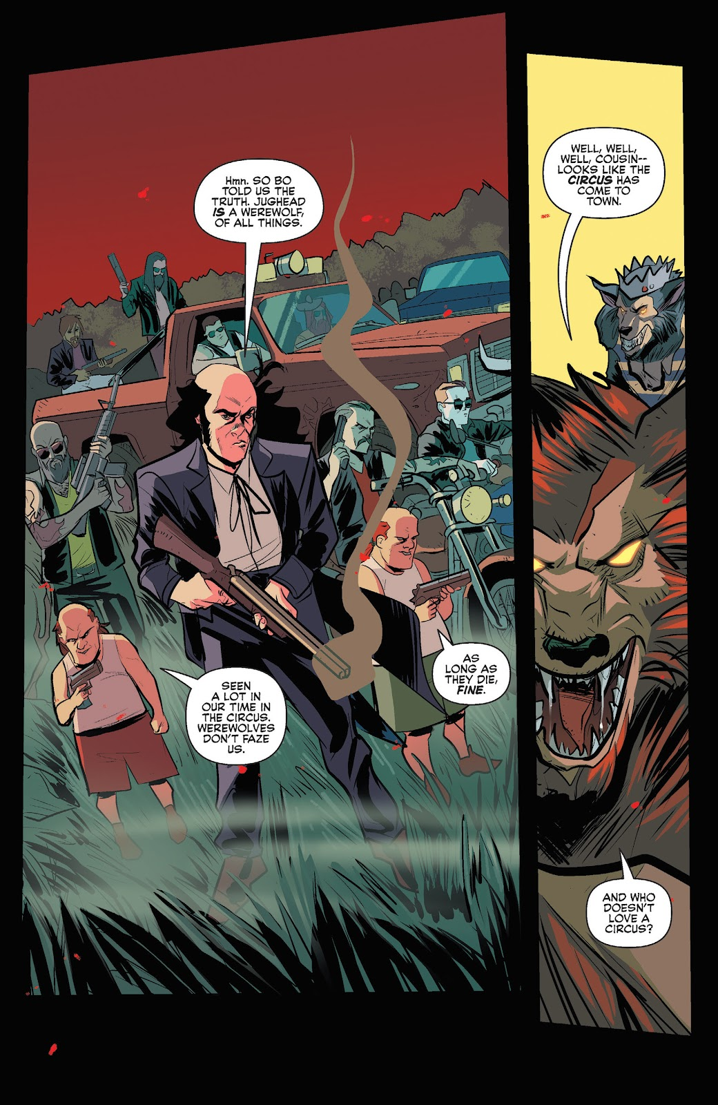 Jughead The Hunger Issue #3 #4 - English 13