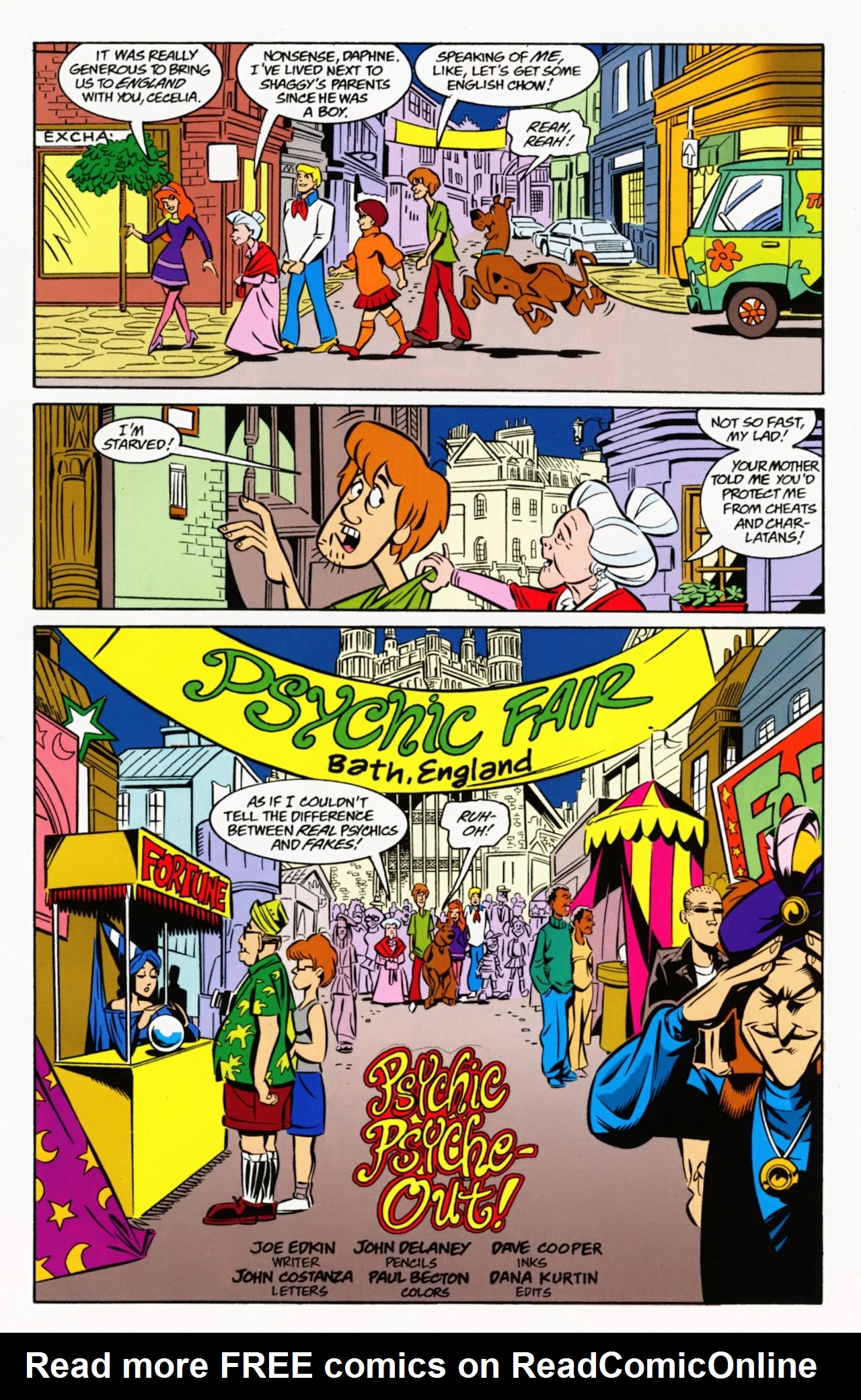 Read online Scooby-Doo: Where Are You? comic -  Issue #8 - 17