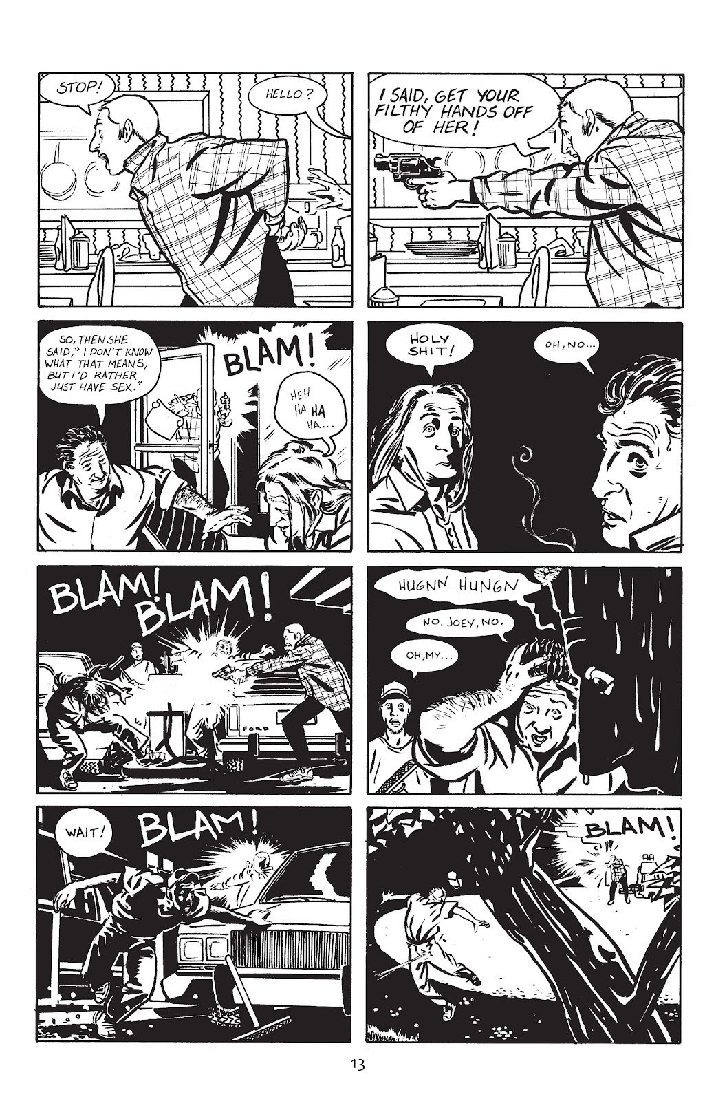 Stray Bullets Issue #1 #1 - English 16