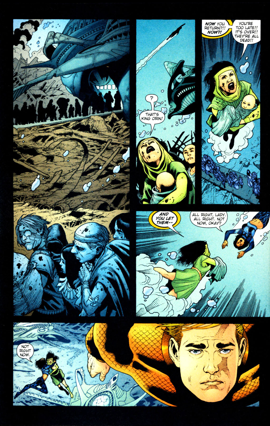 Read online Aquaman (2003) comic -  Issue #38 - 3