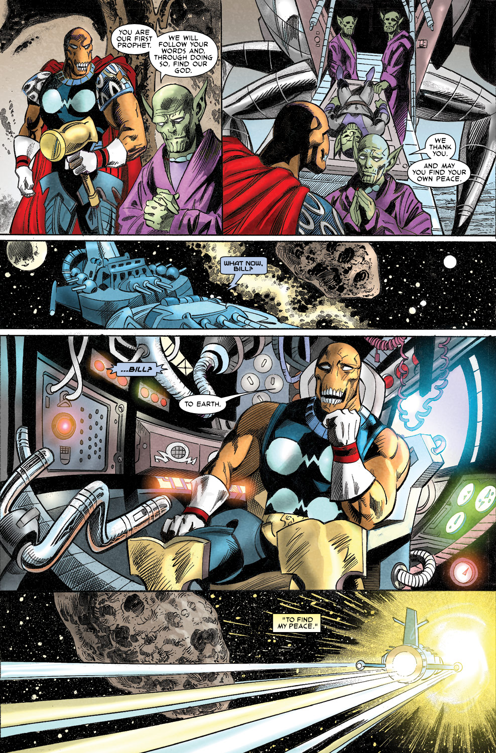 Read online Secret Invasion Aftermath: Beta Ray Bill - The Green of Eden comic -  Issue # Full - 31