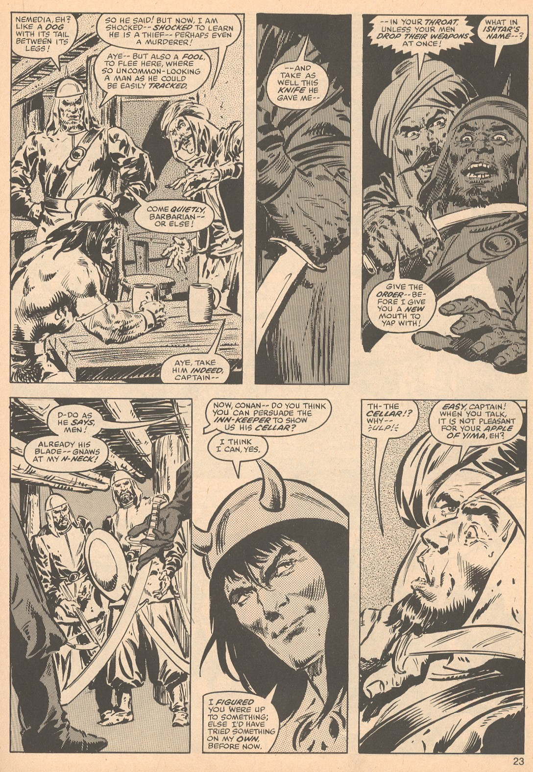 The Savage Sword Of Conan Issue #56 #57 - English 23