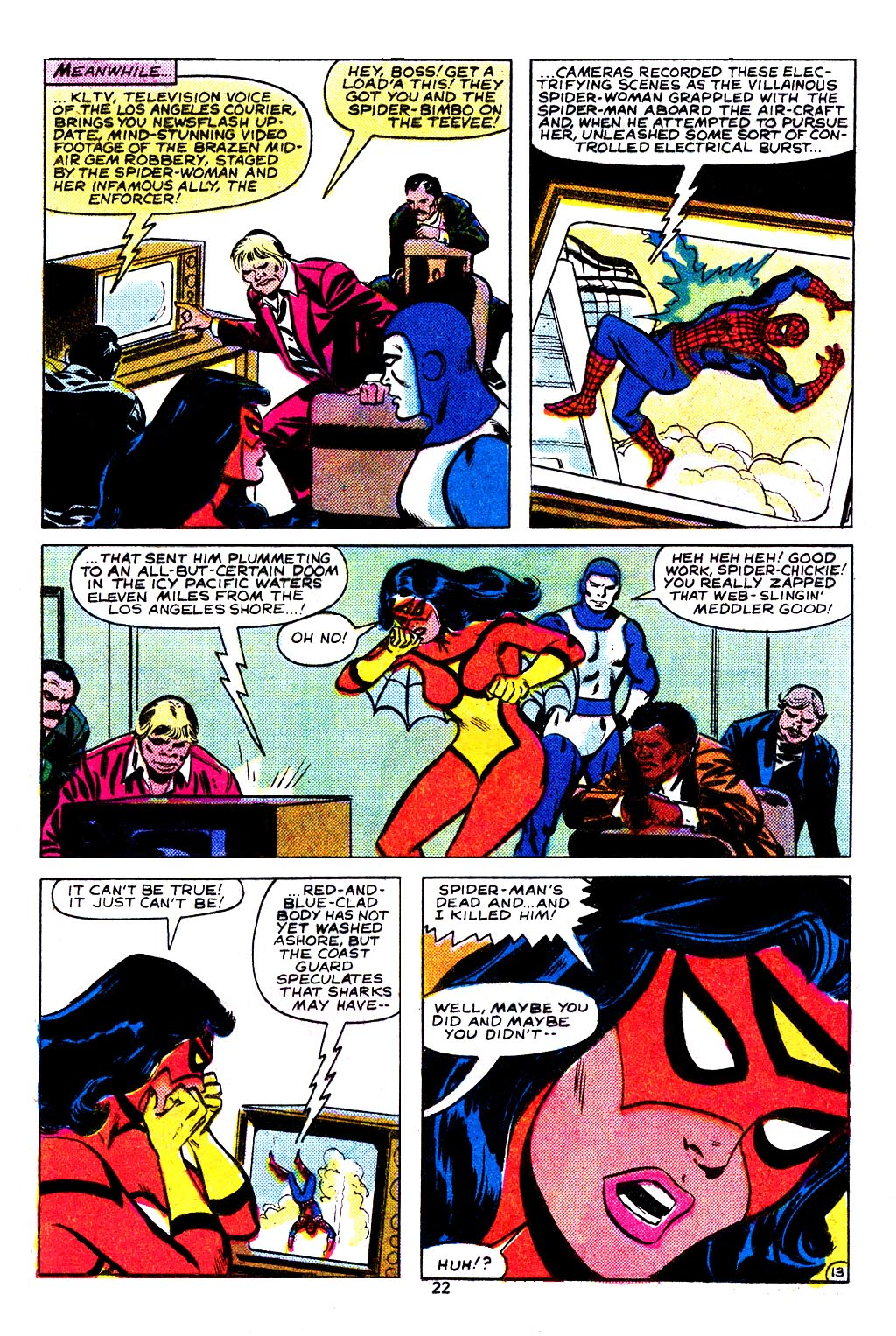 Spider-Woman (1978) Issue #29 #29 - English 14