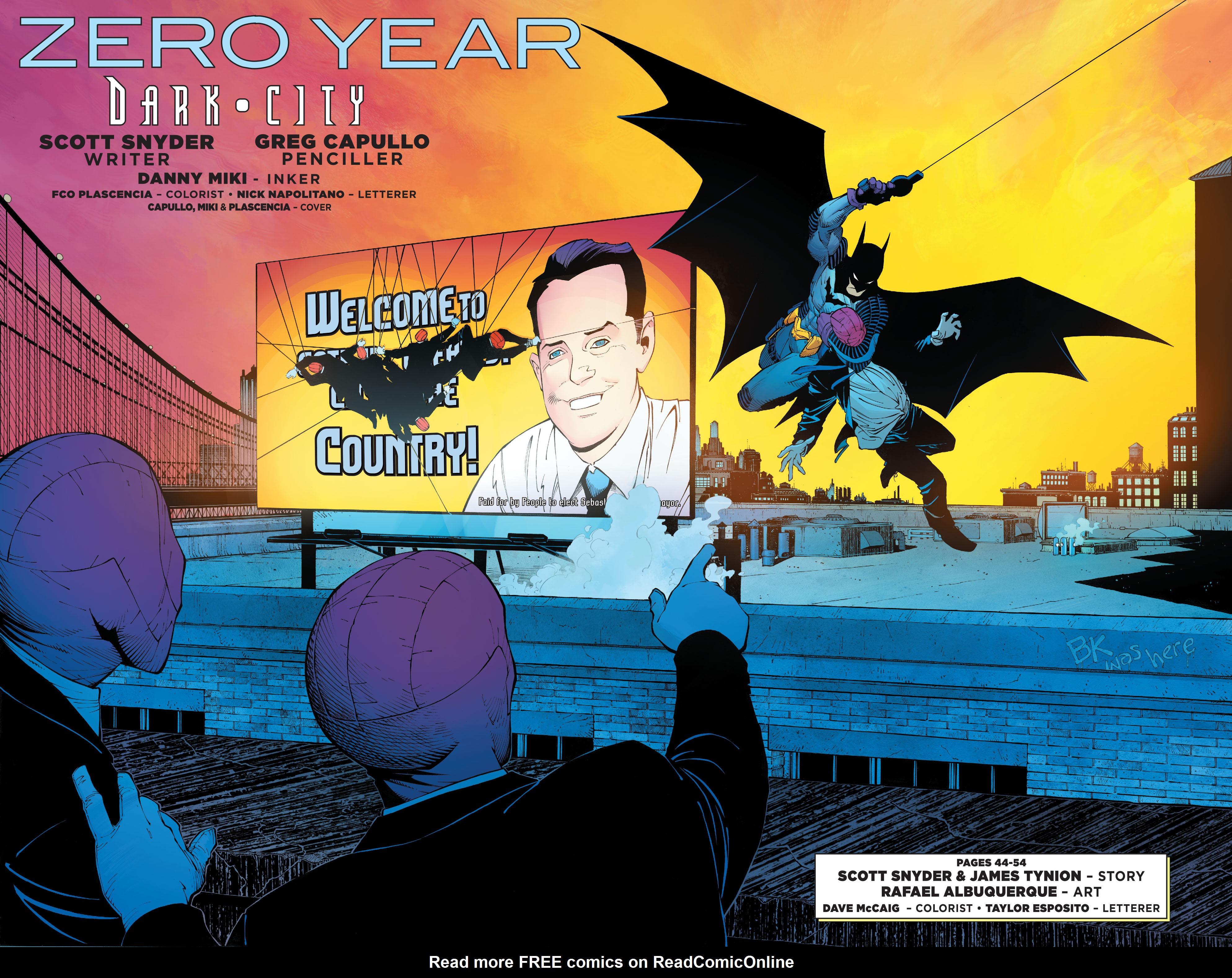 DC Comics: Zero Year chap tpb pic 12