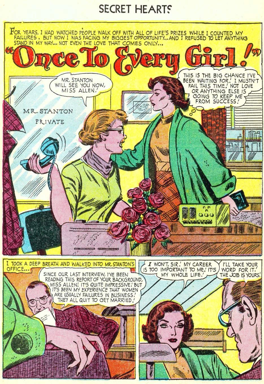 Read online Secret Hearts comic -  Issue #22 - 16
