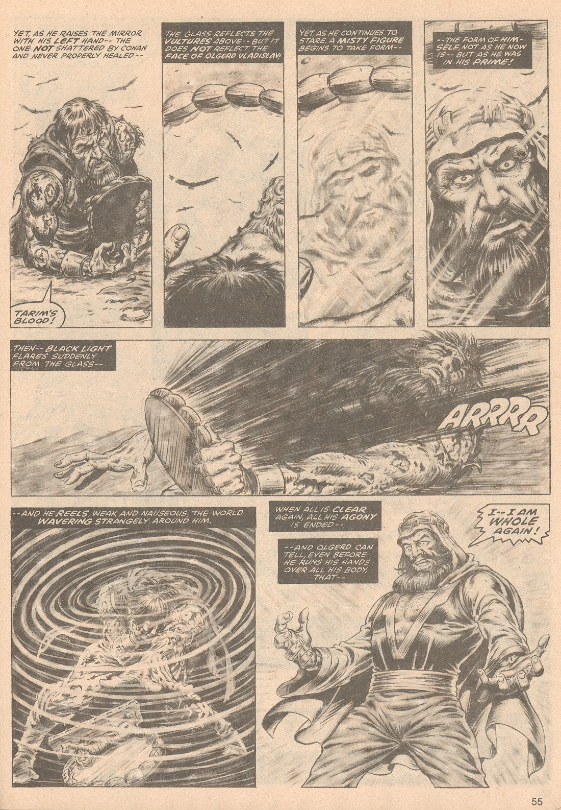 The Savage Sword Of Conan Issue #58 #59 - English 56