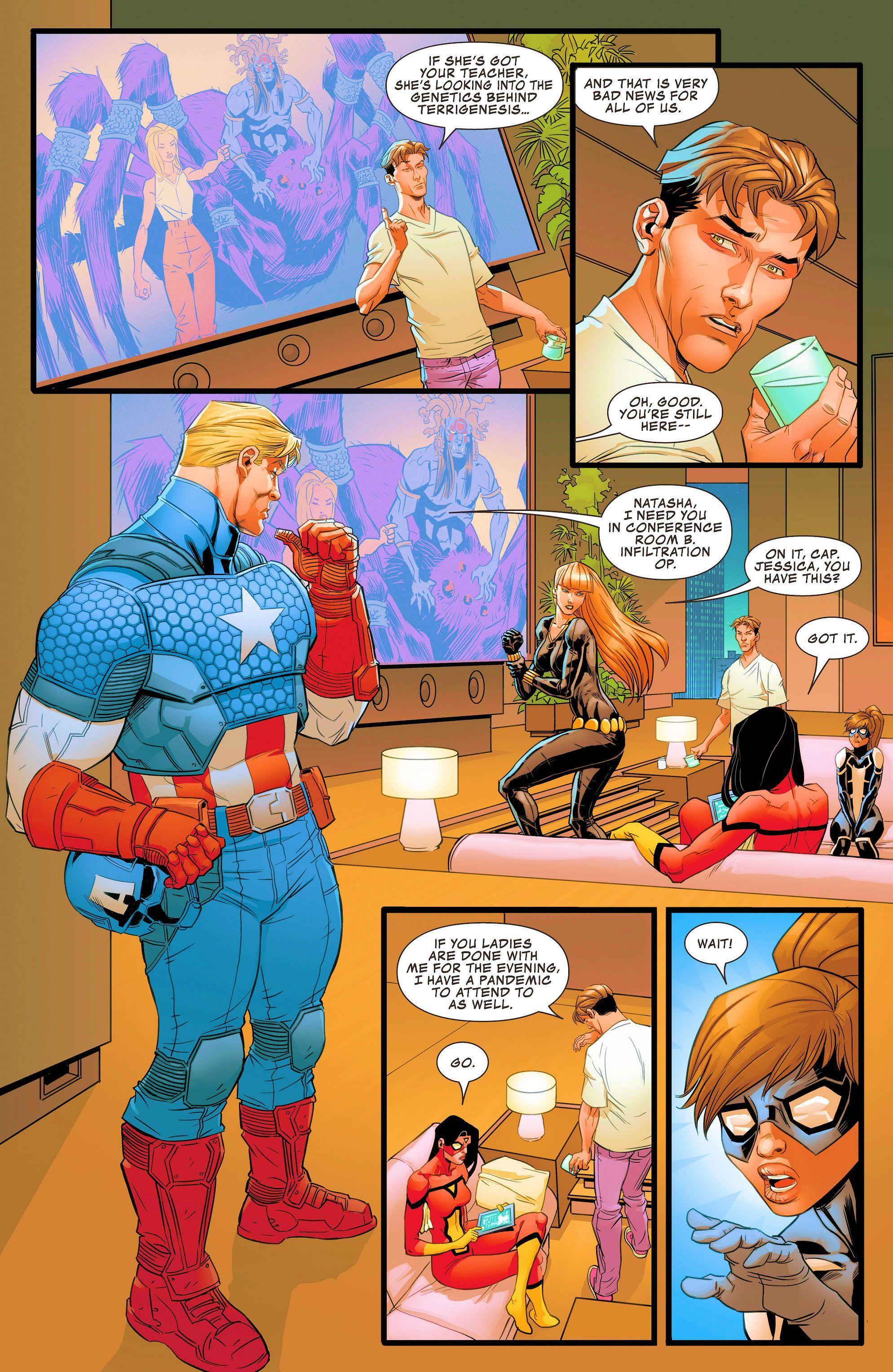 Read online Avengers Assemble (2012) comic -  Issue #22 - 17