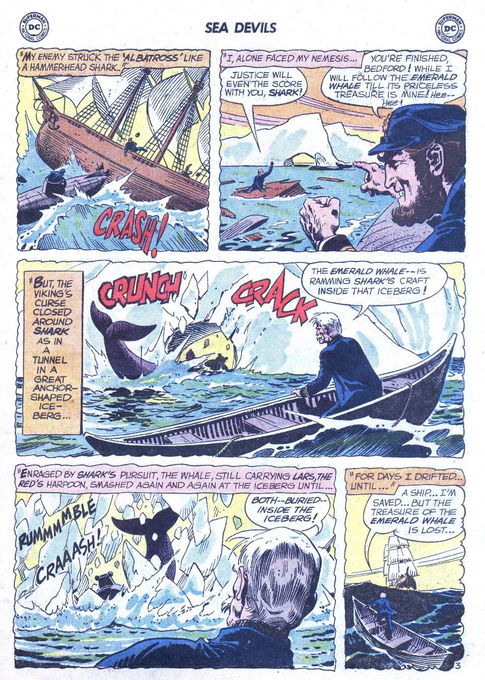 Read online Sea Devils comic -  Issue #1 - 24