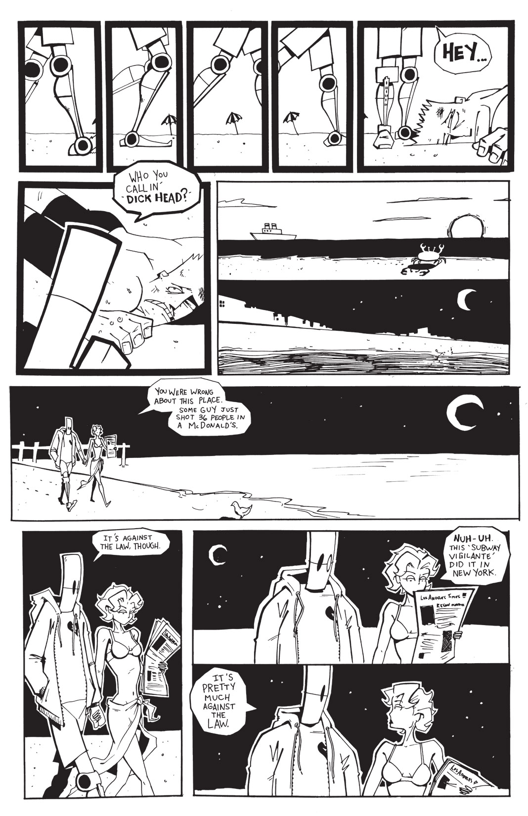 Read online Scud: The Disposable Assassin: The Whole Shebang comic -  Issue # TPB (Part 3) - 109
