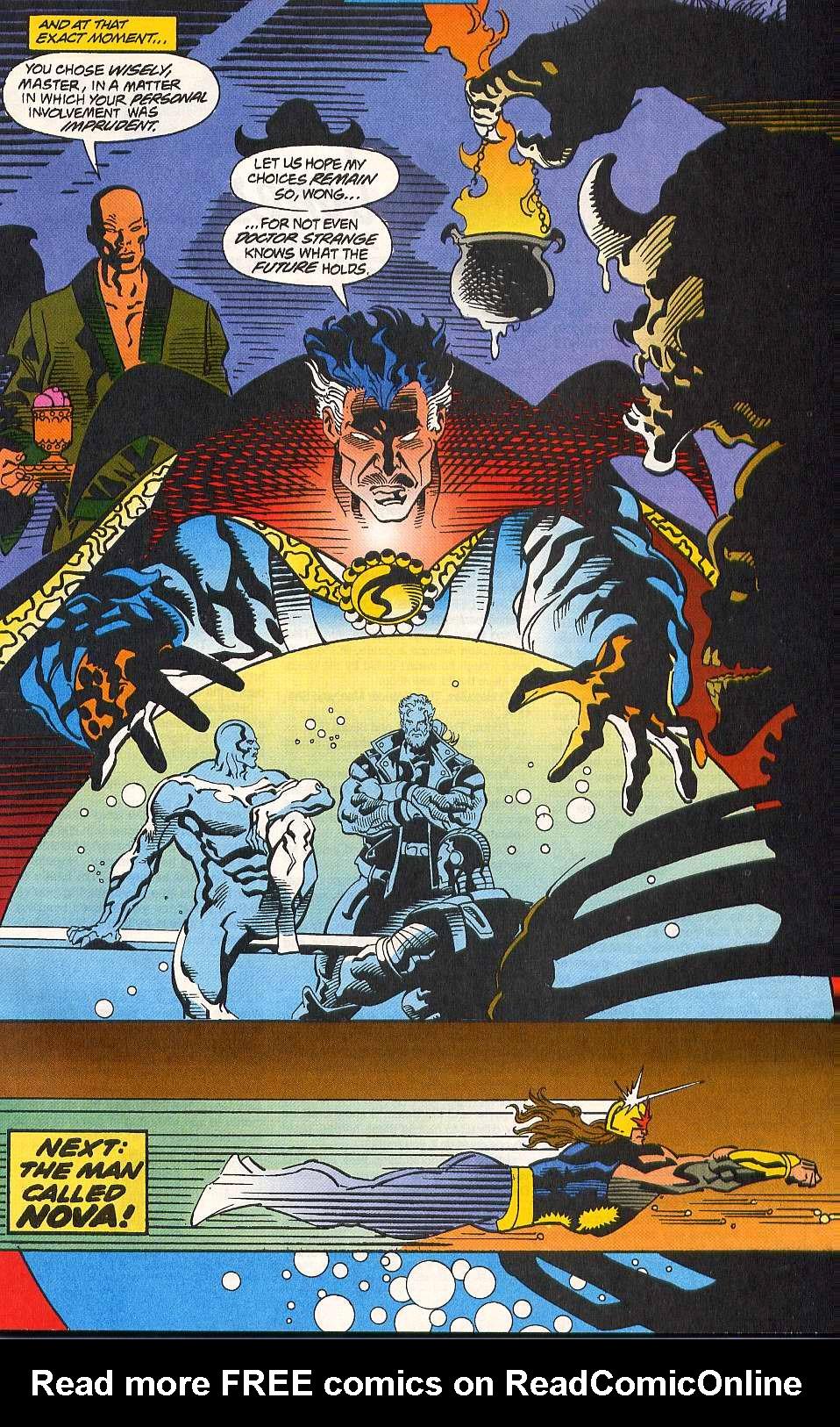 Read online Secret Defenders comic -  Issue #10 - 23