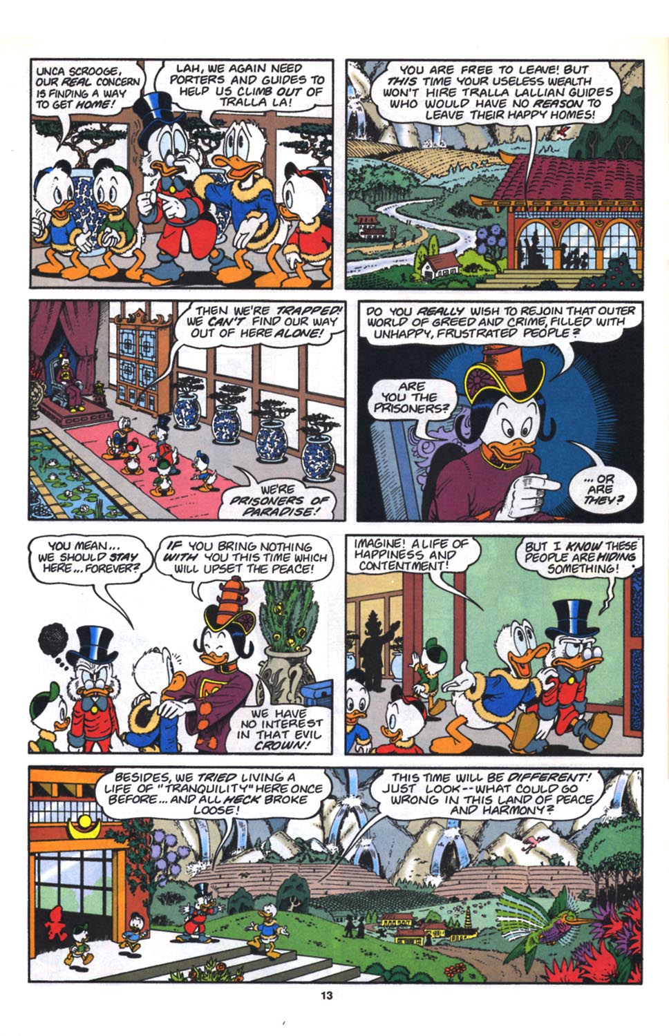 Uncle Scrooge (1953) Issue #261 #261 - English 15