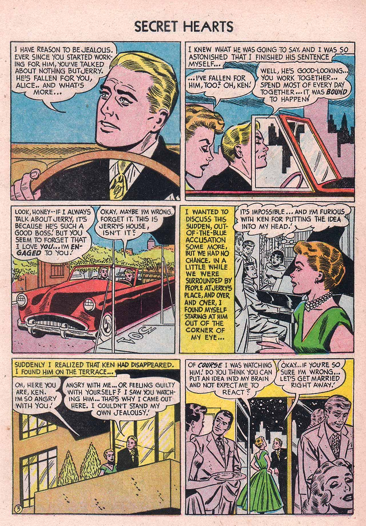 Read online Secret Hearts comic -  Issue #12 - 29