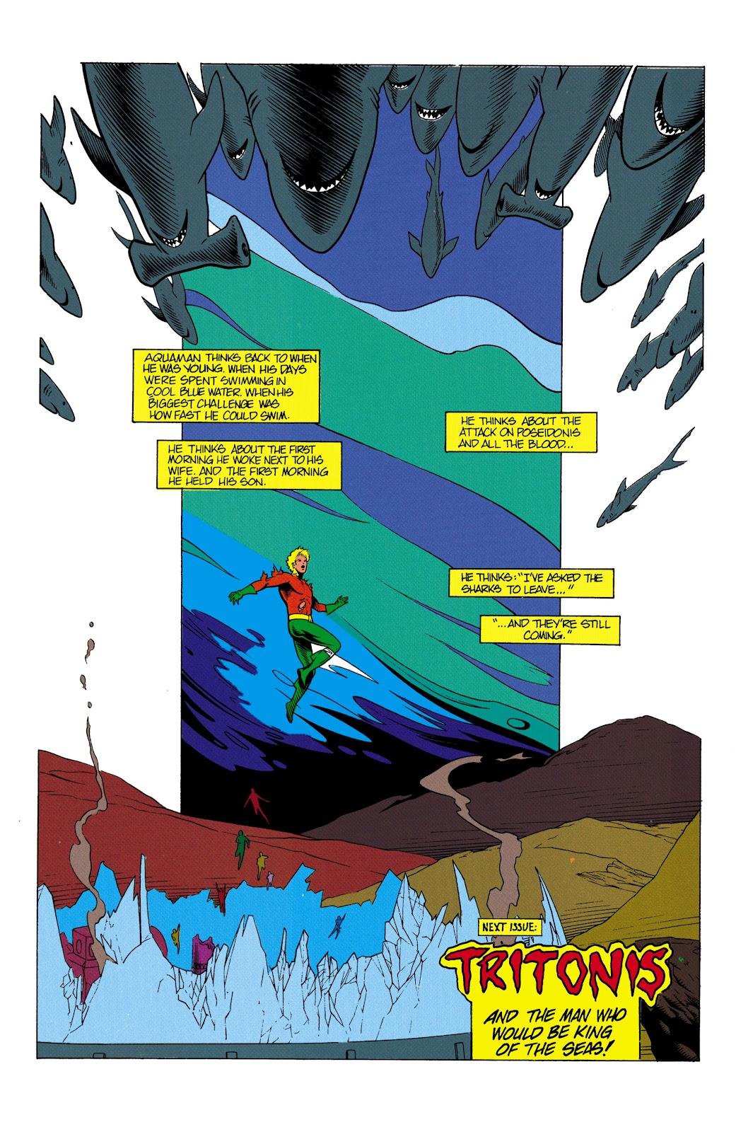 Aquaman (1991) Issue #2 #2 - English 23