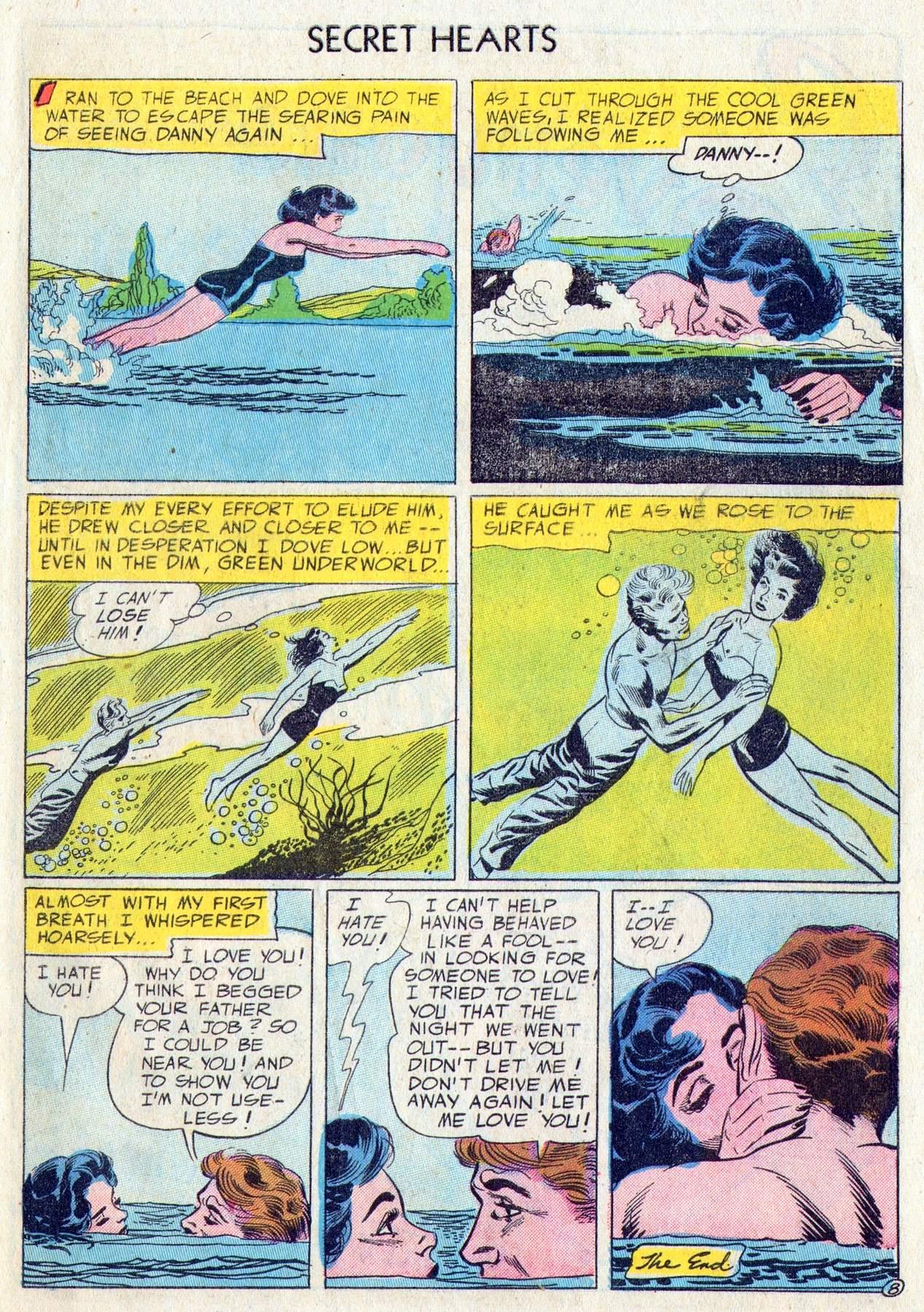 Read online Secret Hearts comic -  Issue #28 - 33