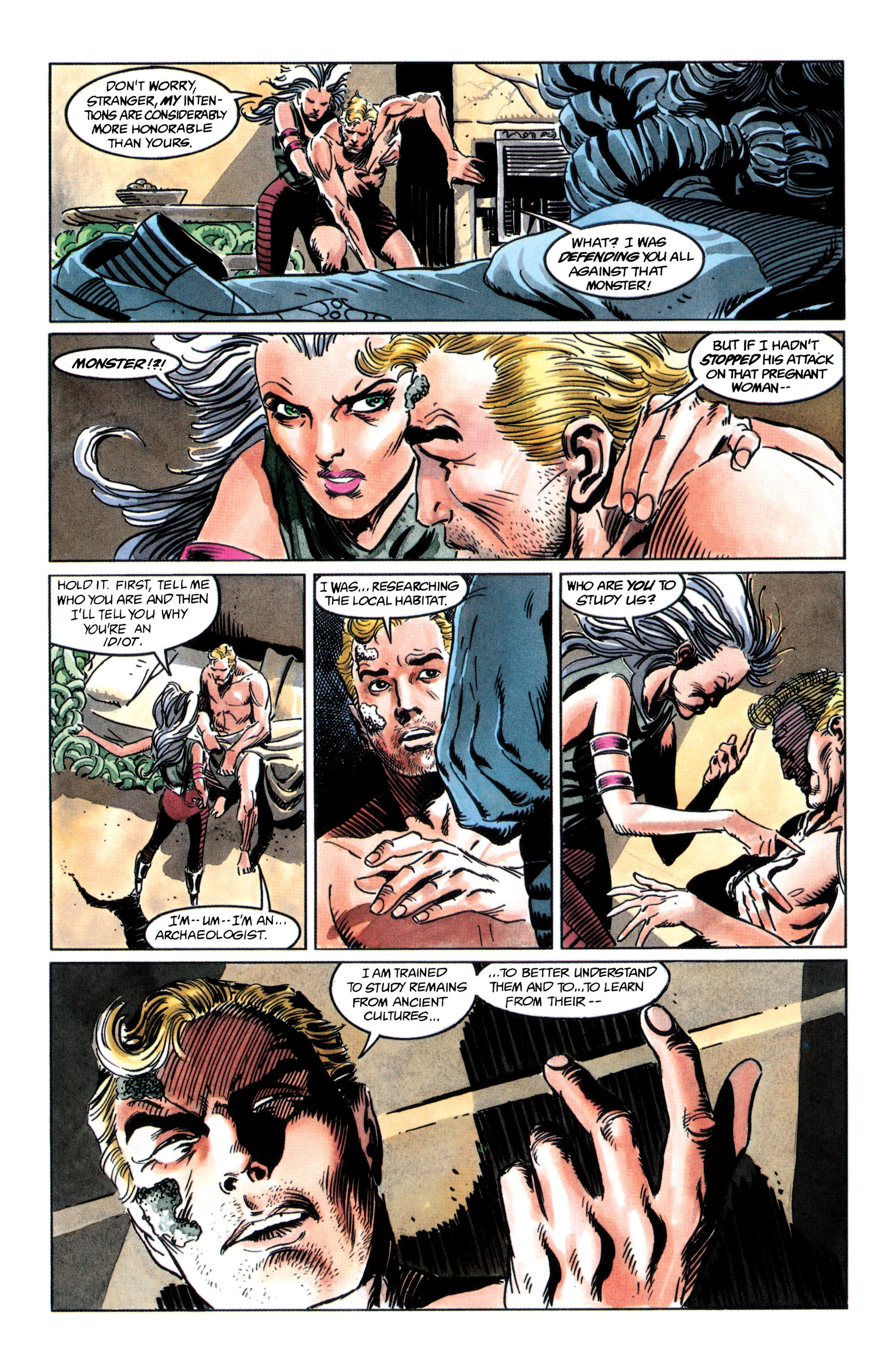 Adam Strange (1990) 2 Page 35