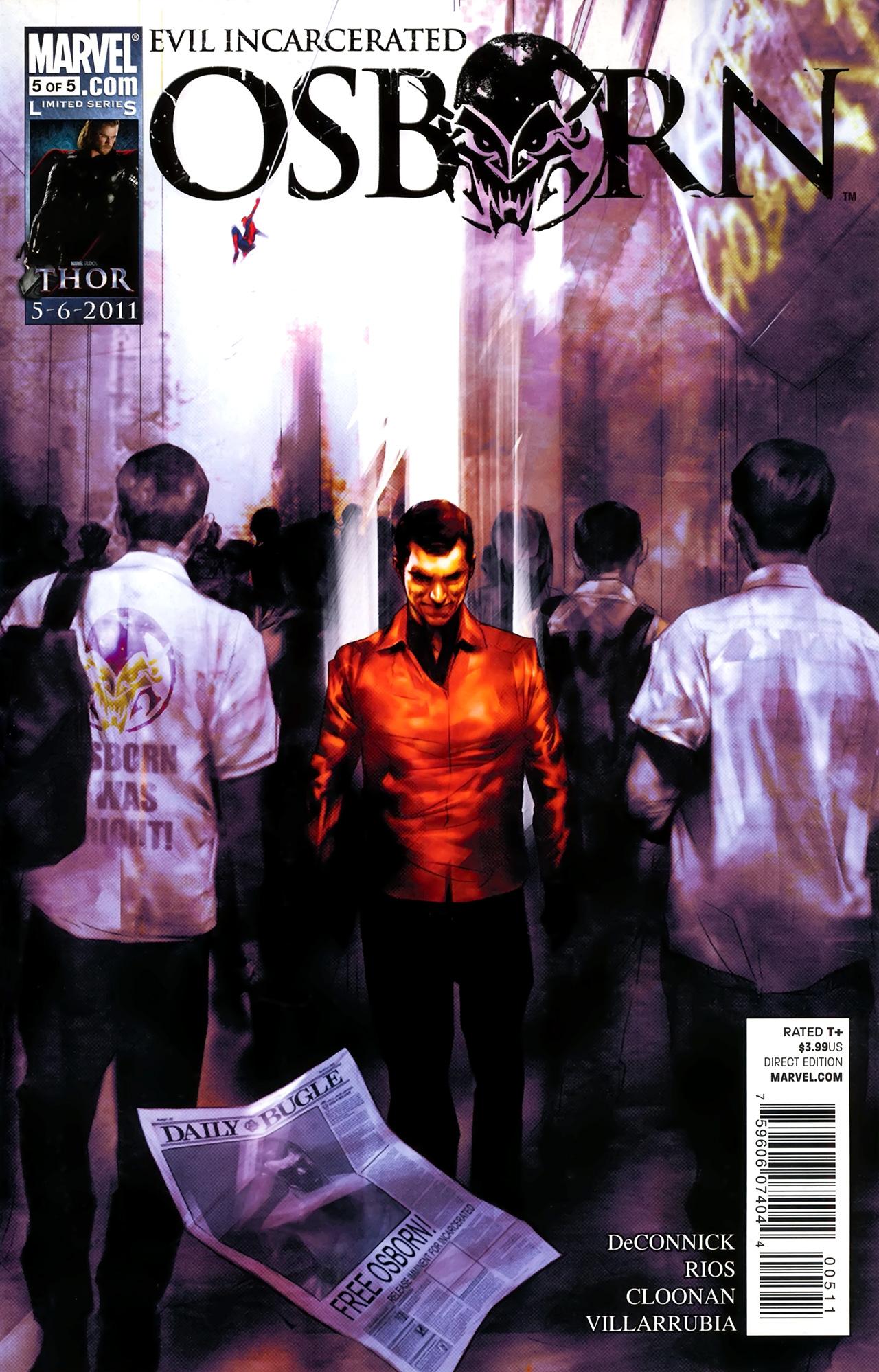 Osborn issue 5 - Page 1