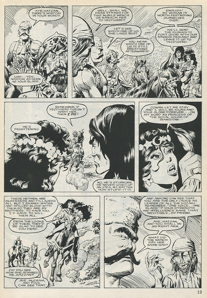 The Savage Sword Of Conan Issue #131 #132 - English 13