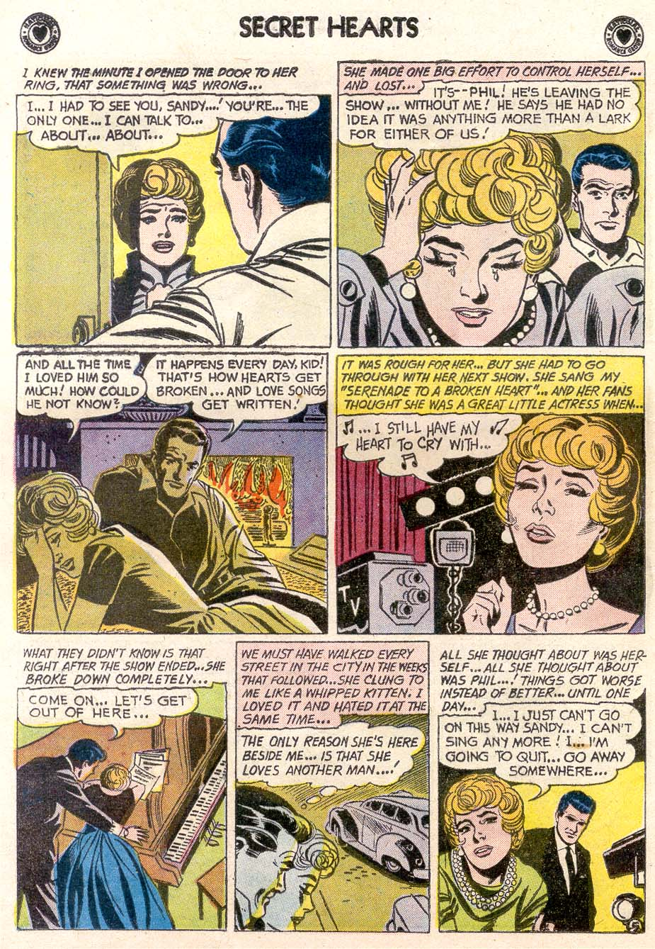 Read online Secret Hearts comic -  Issue #65 - 12