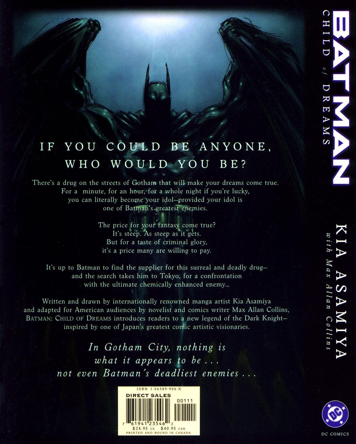 Read online Batman: Child of Dreams comic -  Issue # Full - 334