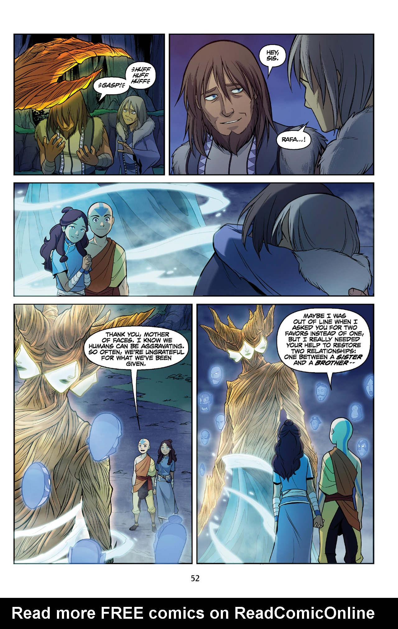 Read online Nickelodeon Avatar: The Last Airbender - The Search comic -  Issue # Part 3 - 53