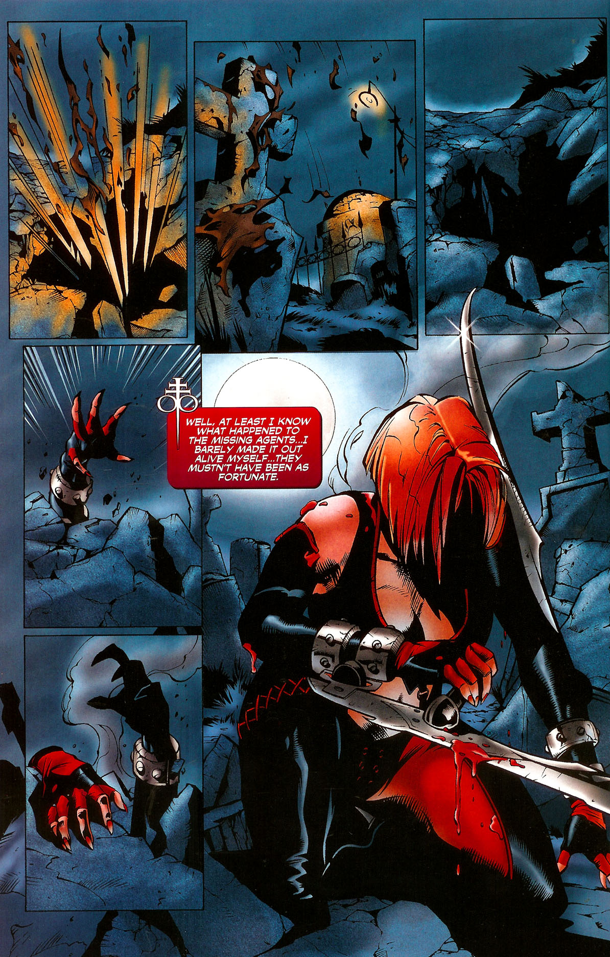 Read online BloodRayne: Dark Soul comic -  Issue # Full - 21
