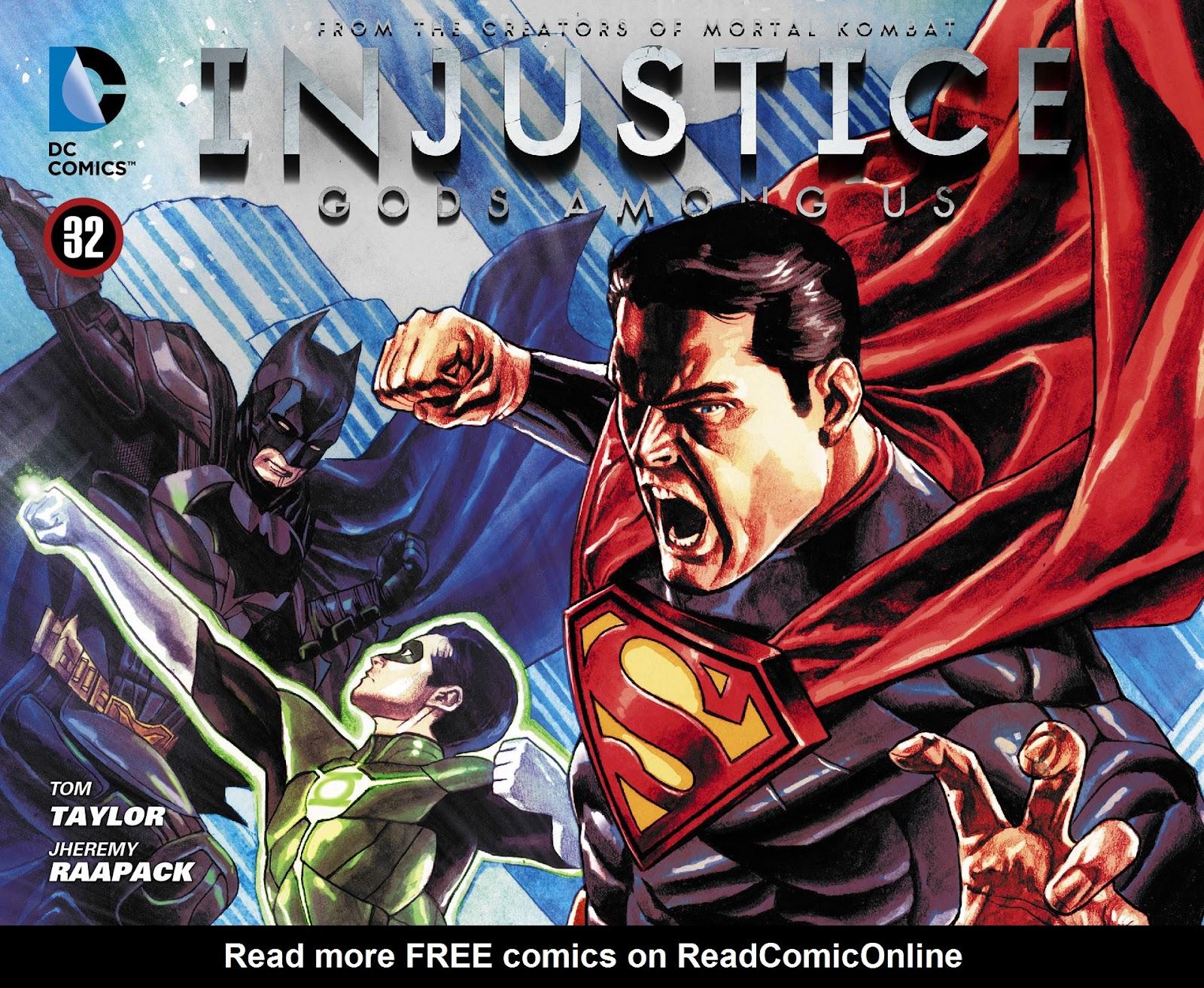 Injustice: Gods Among Us [I] Issue #32 #33 - English 1
