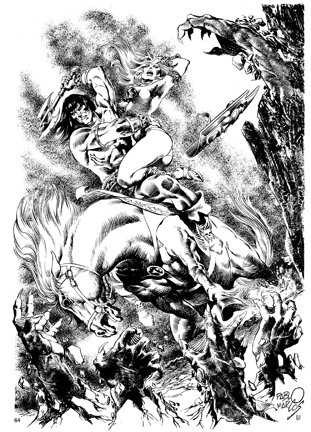 The Savage Sword Of Conan Issue #72 #73 - English 63