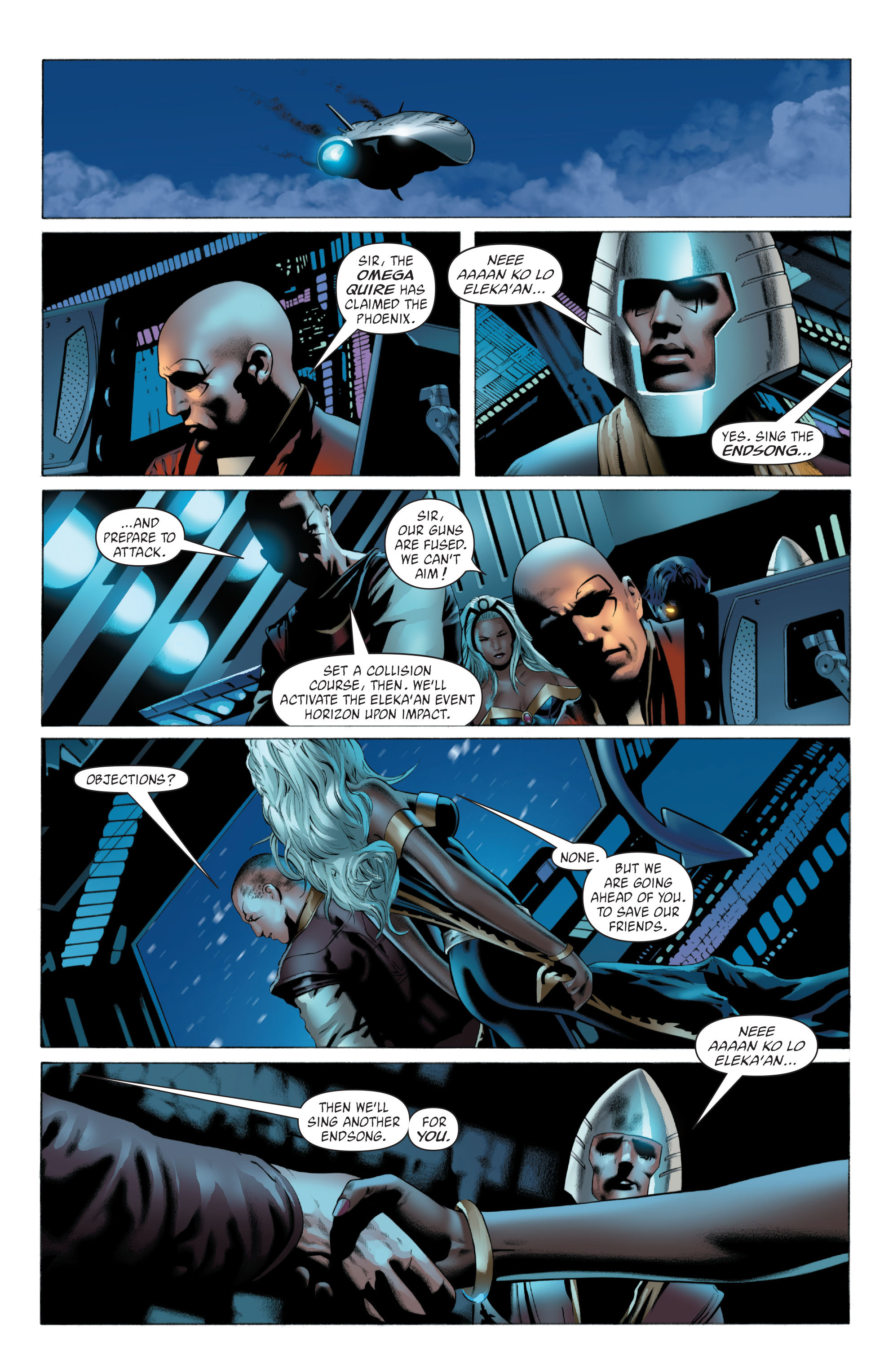 Read online X-Men: Phoenix - Endsong comic -  Issue #5 - 7