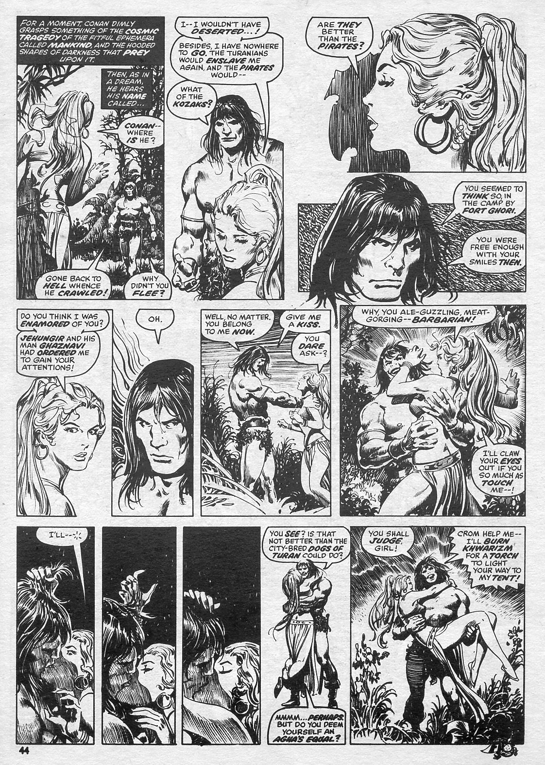 The Savage Sword Of Conan Issue #15 #16 - English 44