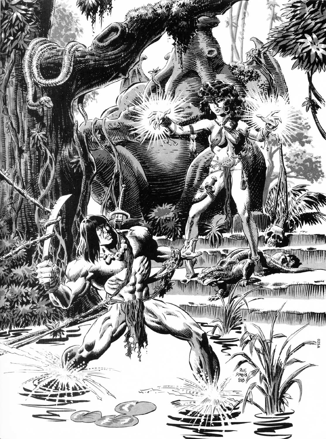 The Savage Sword Of Conan Issue #157 #158 - English 65