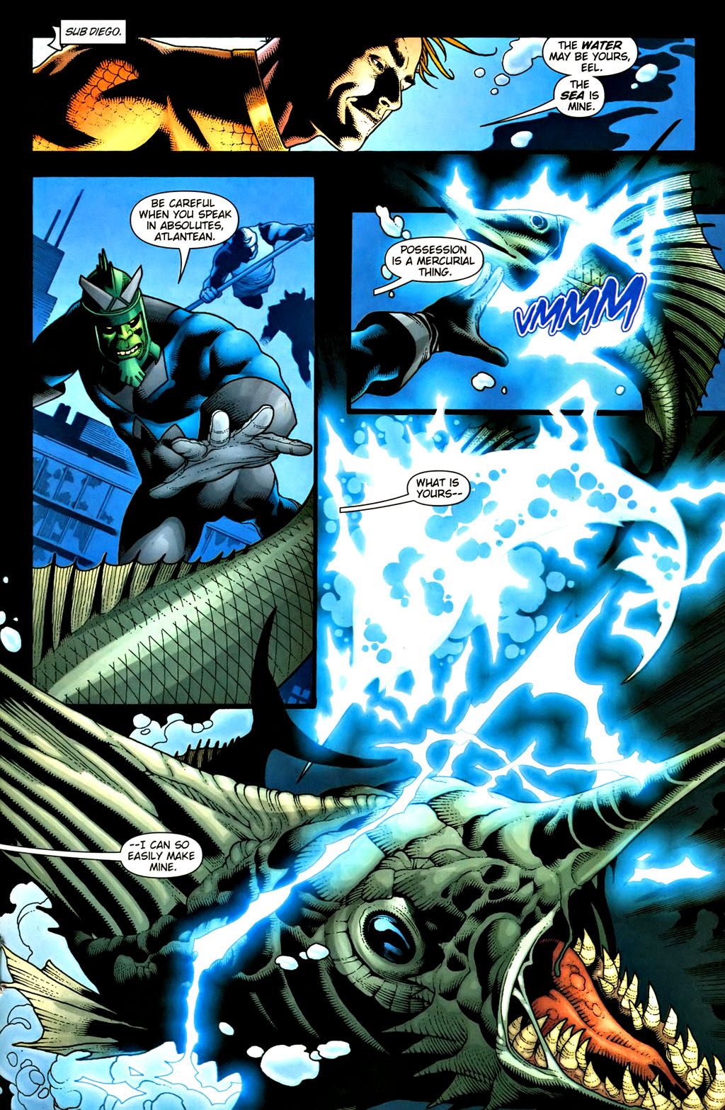 Aquaman (2003) Issue #37 #37 - English 13