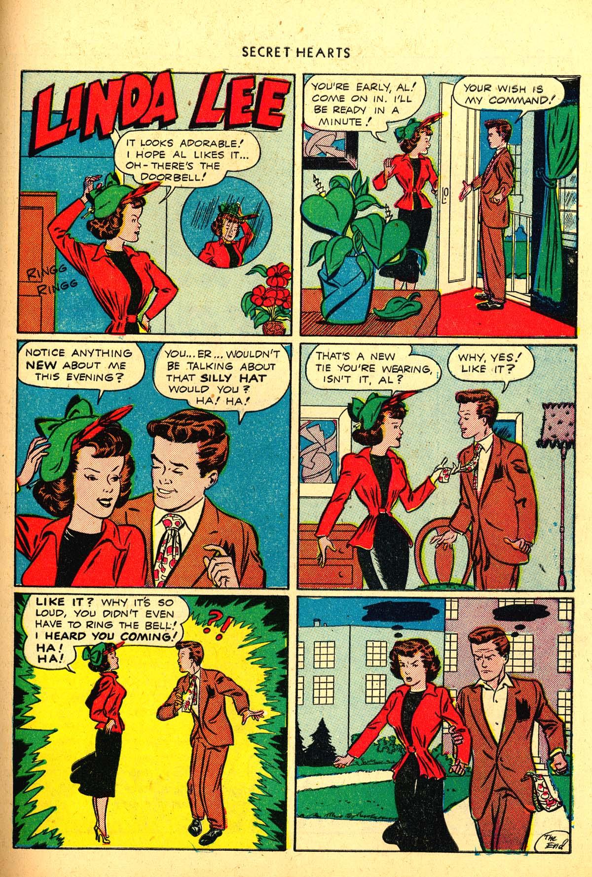 Read online Secret Hearts comic -  Issue #4 - 39