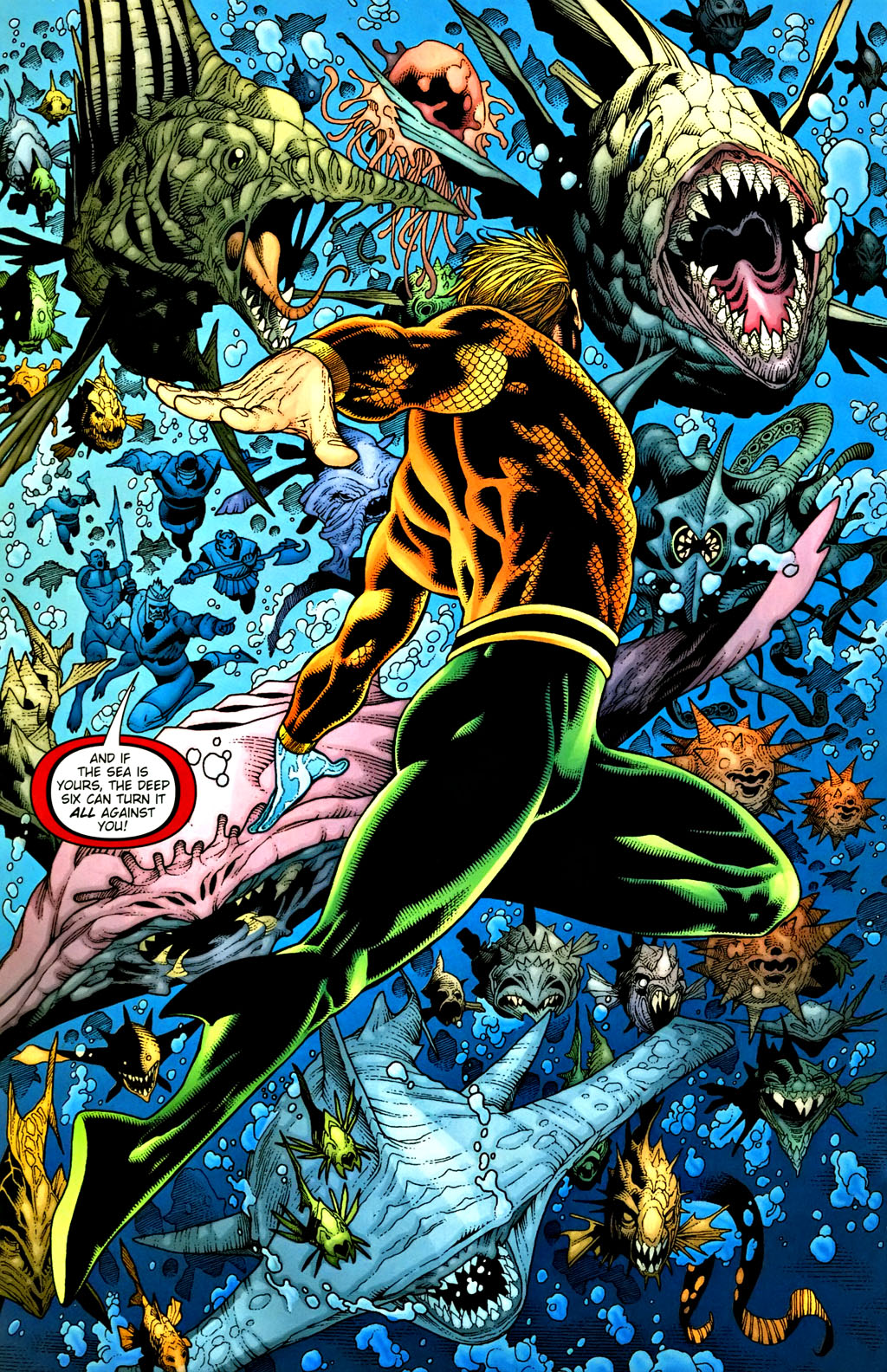 Aquaman (2003) Issue #37 #37 - English 14