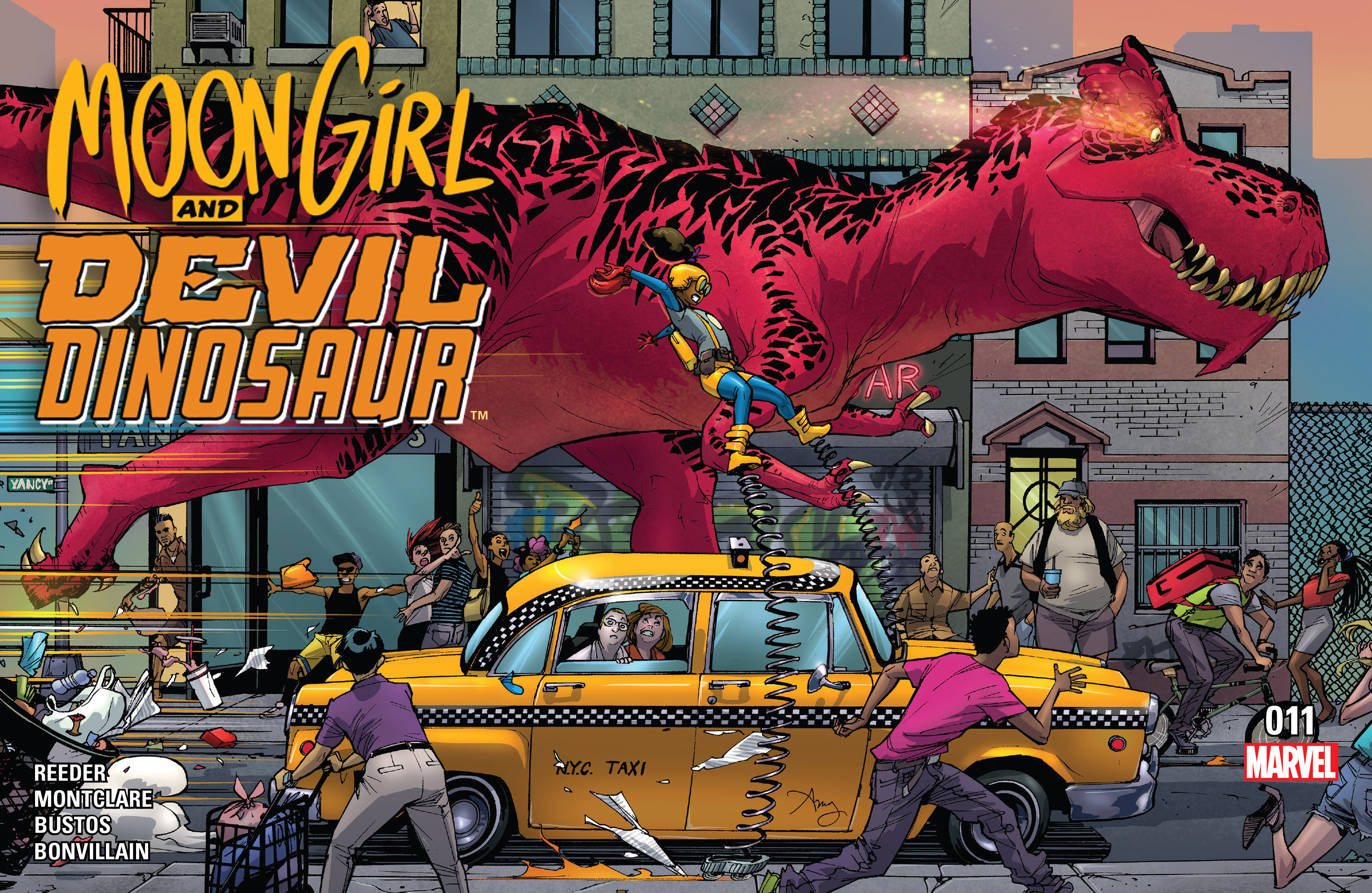 Moon Girl And Devil Dinosaur issue 11 - Page 1