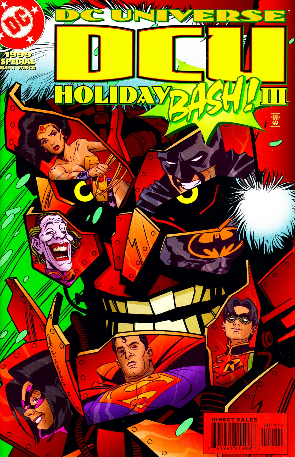 DC Universe Holiday Bash 3 Page 1
