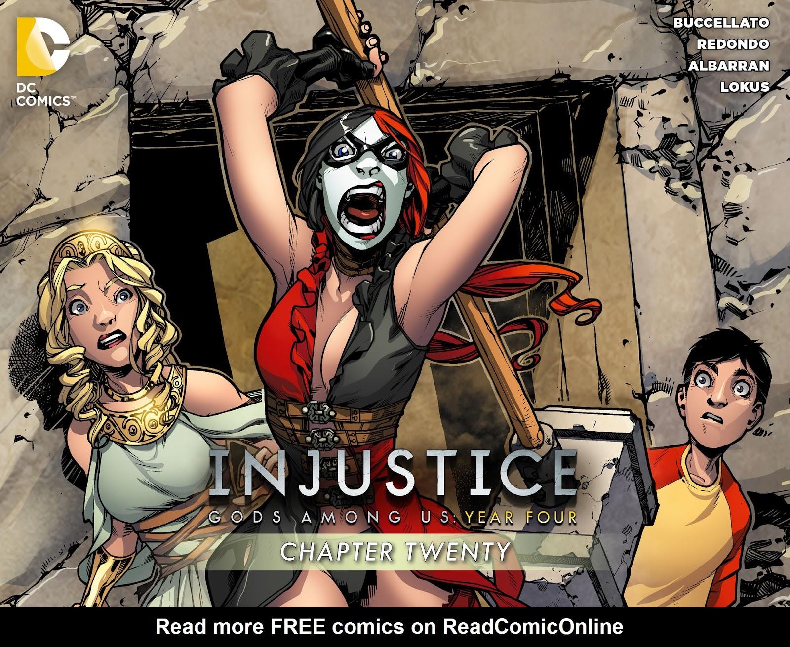 Injustice: Gods Among Us Year Four Issue #20 #21 - English 1