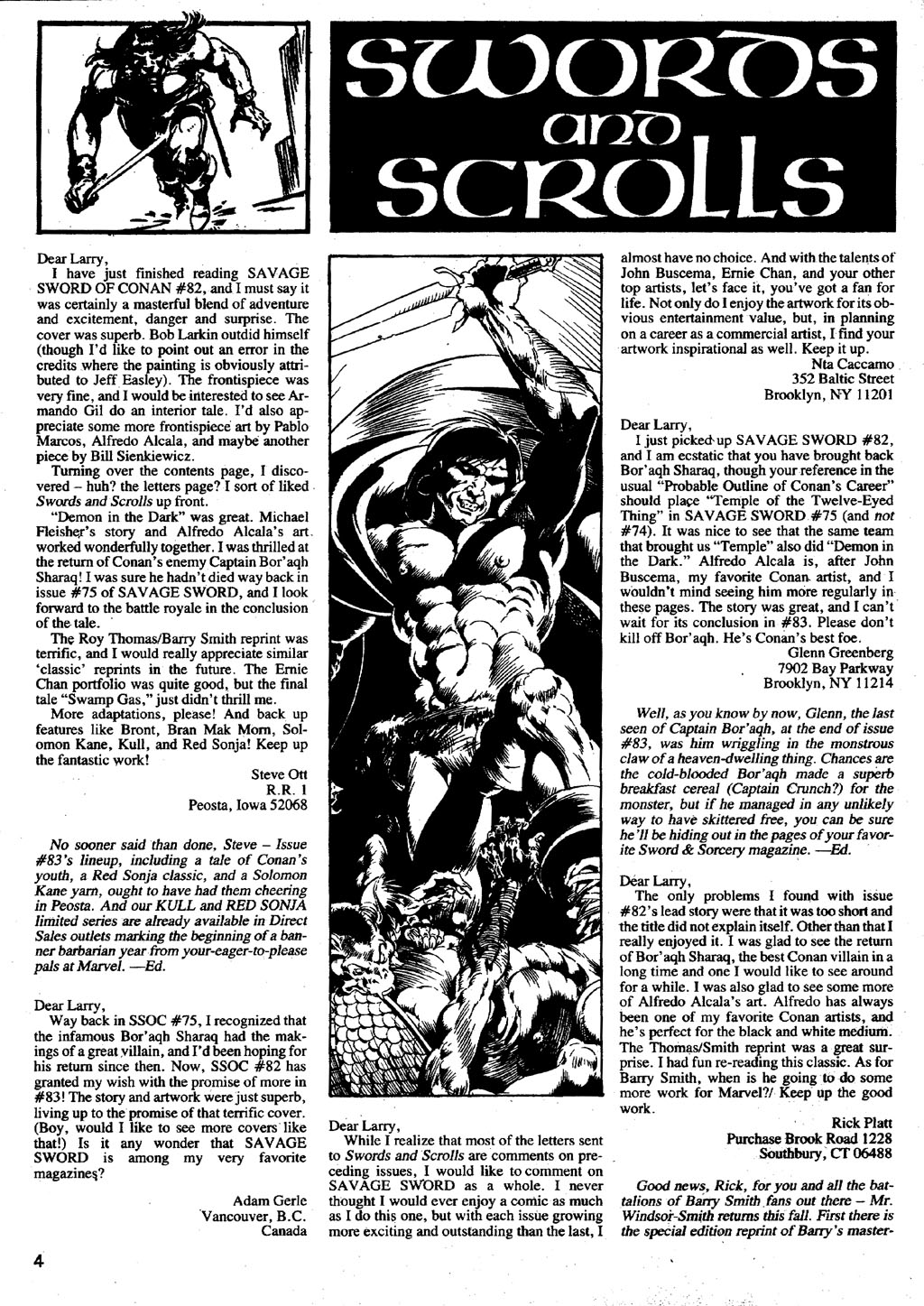 The Savage Sword Of Conan Issue #86 #87 - English 4
