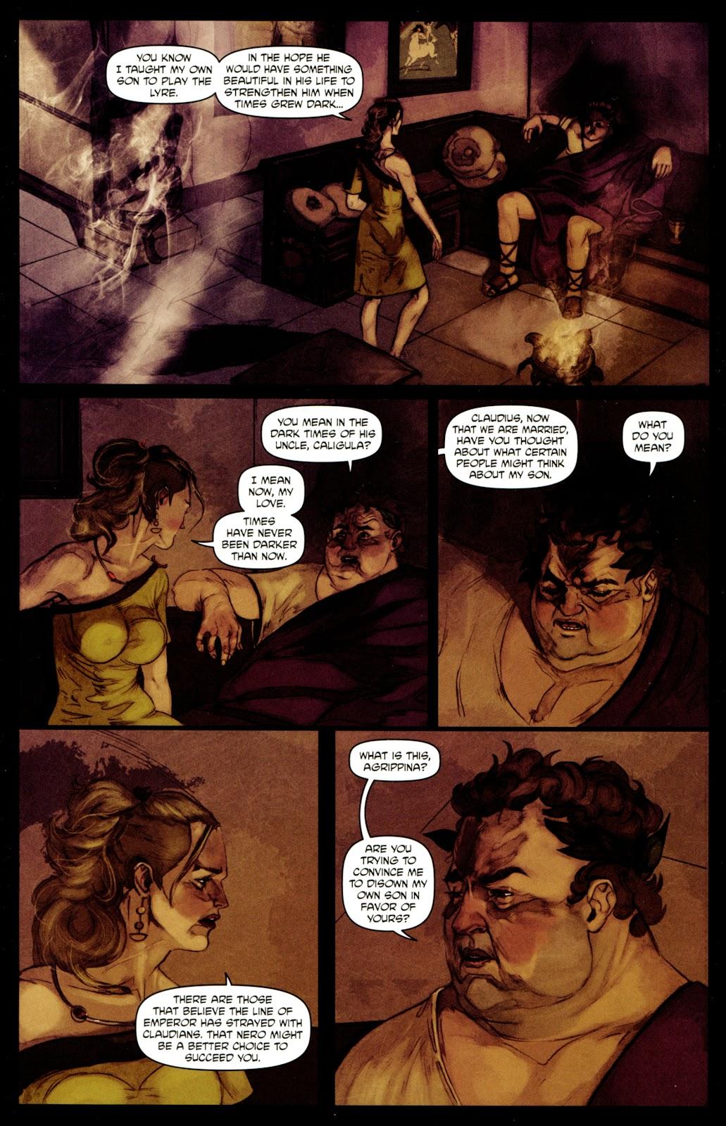 Caligula: Heart of Rome Issue #4 #4 - English 17