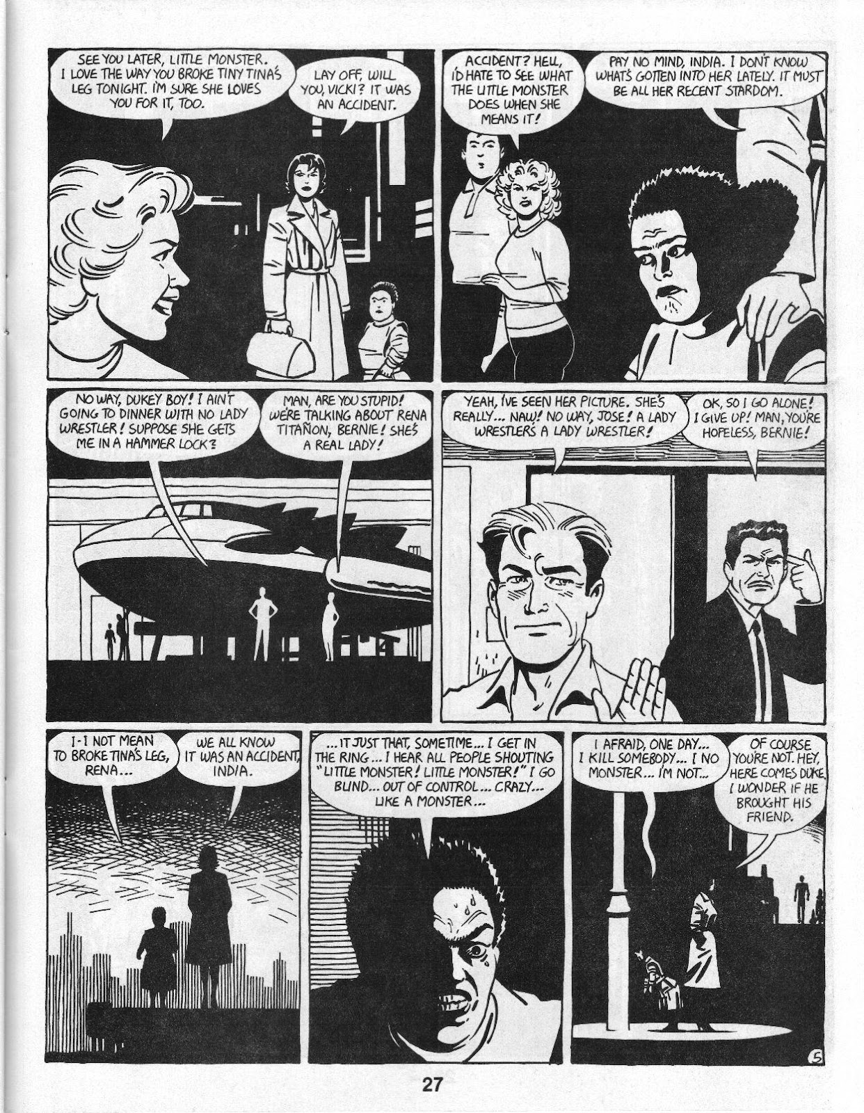 Love and Rockets (1982) Issue #14 #13 - English 29