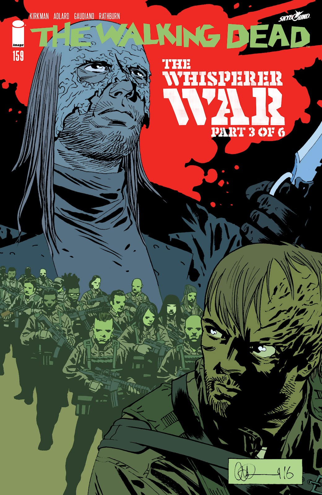 The Walking Dead Issue #159 Page 1