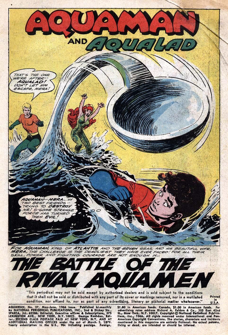 Aquaman (1962) Issue #27 #27 - English 3