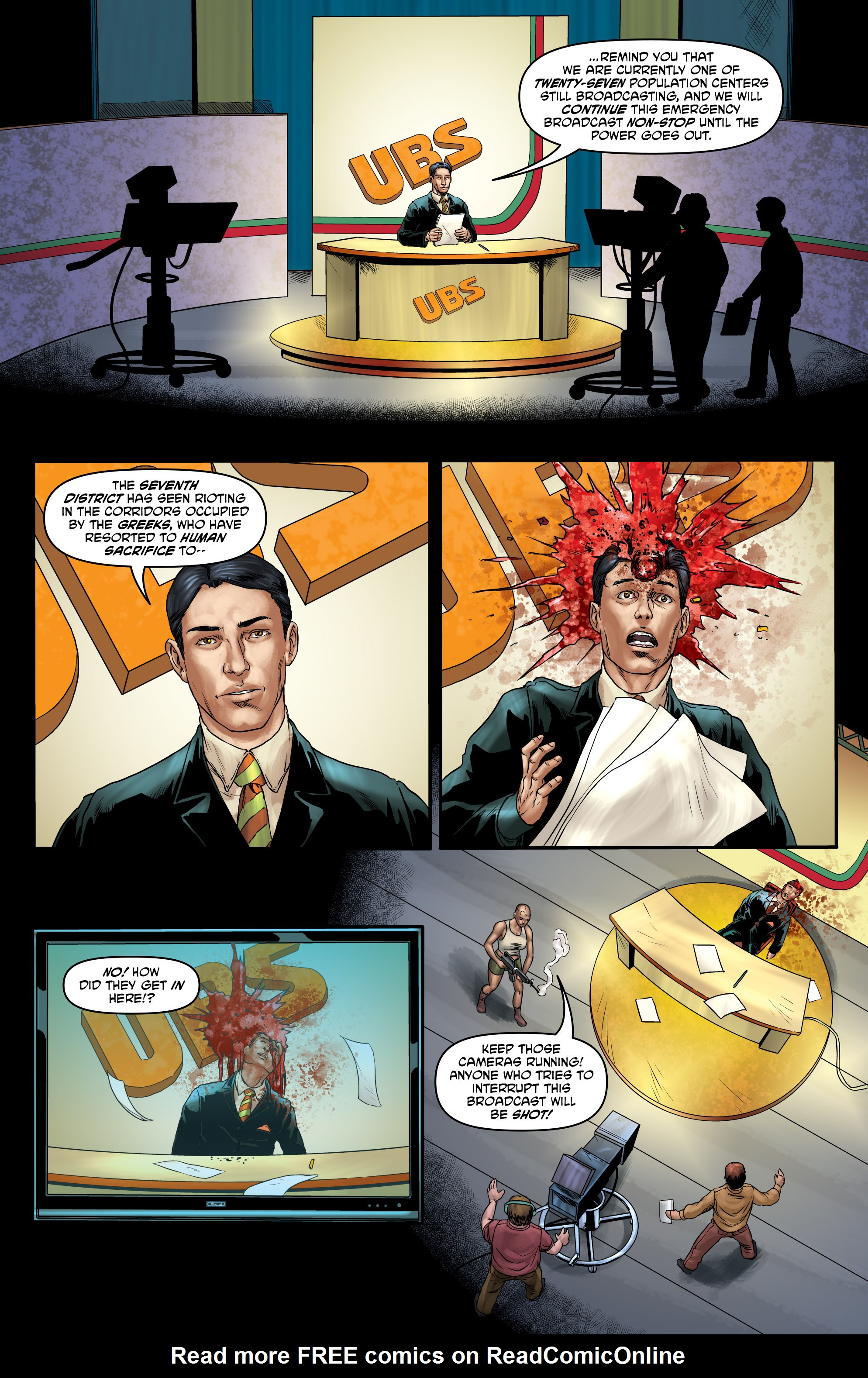 Read online God Is Dead comic -  Issue #47 - 13
