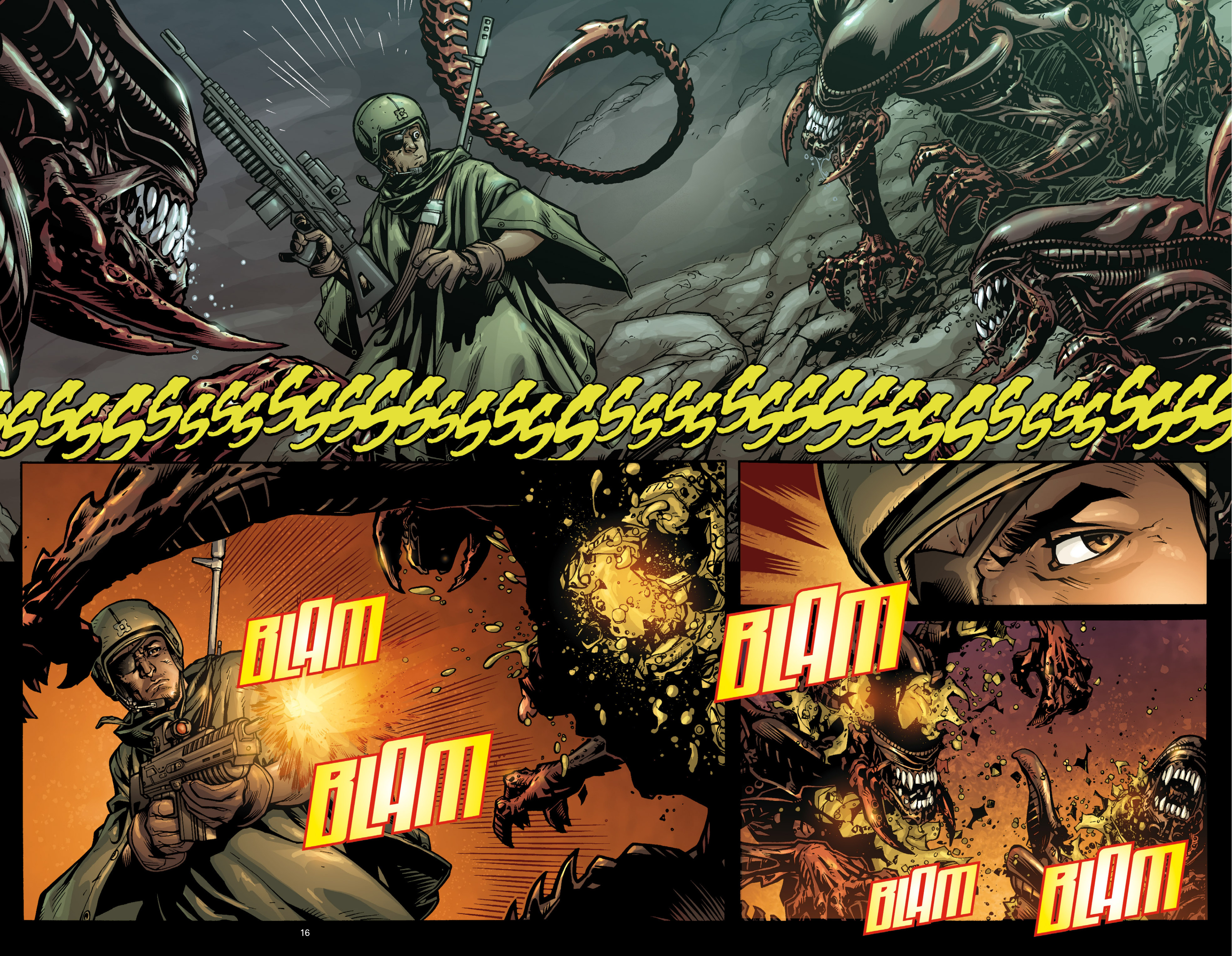 Aliens (2009) TPB Page 15