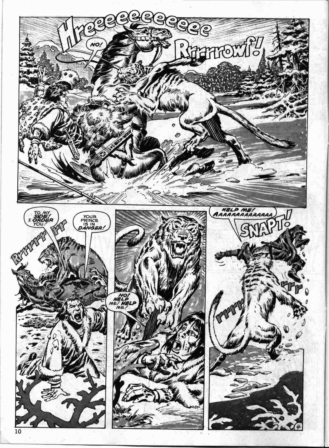 The Savage Sword Of Conan Issue #133 #134 - English 9